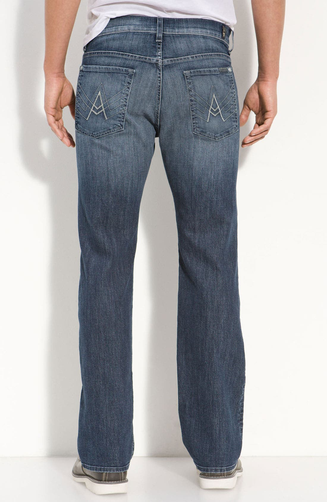 Main Image - 7 For All Mankind® 'Austyn' Relaxed Straight Leg Jeans (New Fiji)