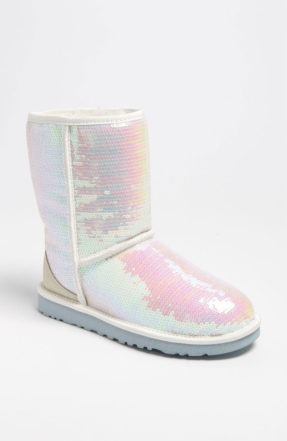 Alternate Image 1 Selected - UGG® Australia 'Classic Short Sparkles - I Do' Boot (Women)