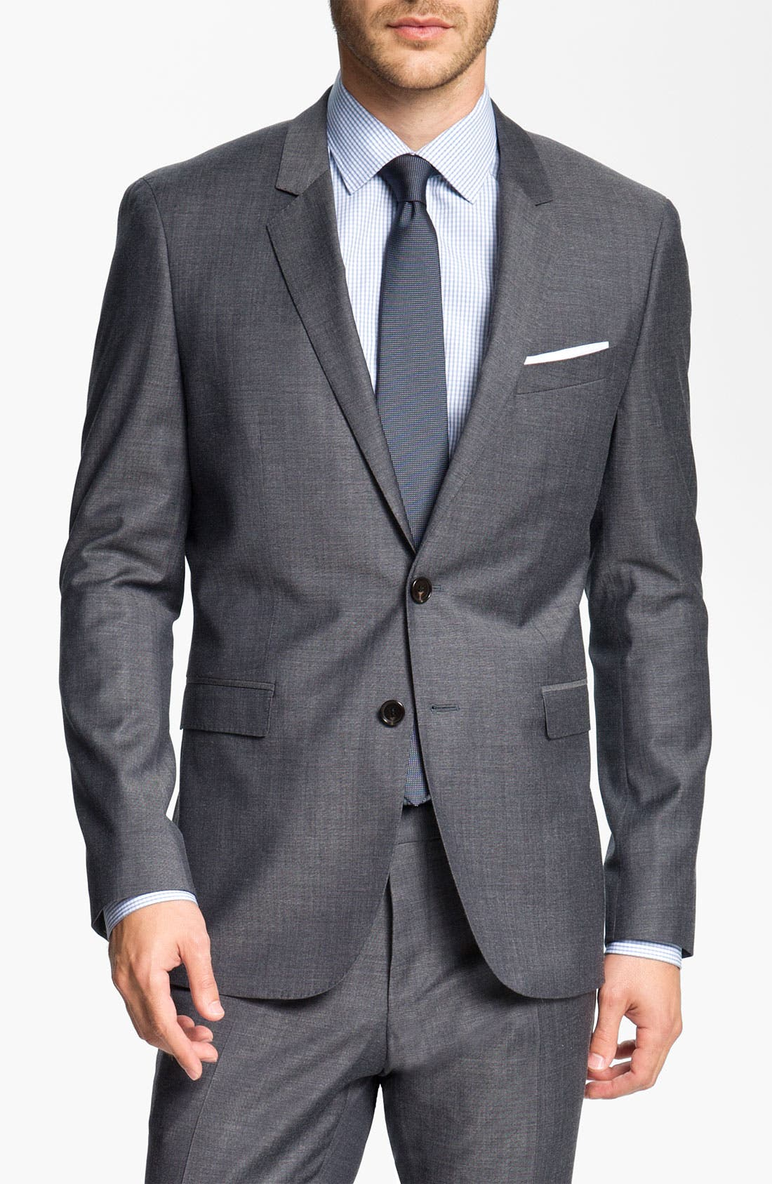 Main Image - BOSS Black 'Ryan/Win' Extra Trim Fit Suit