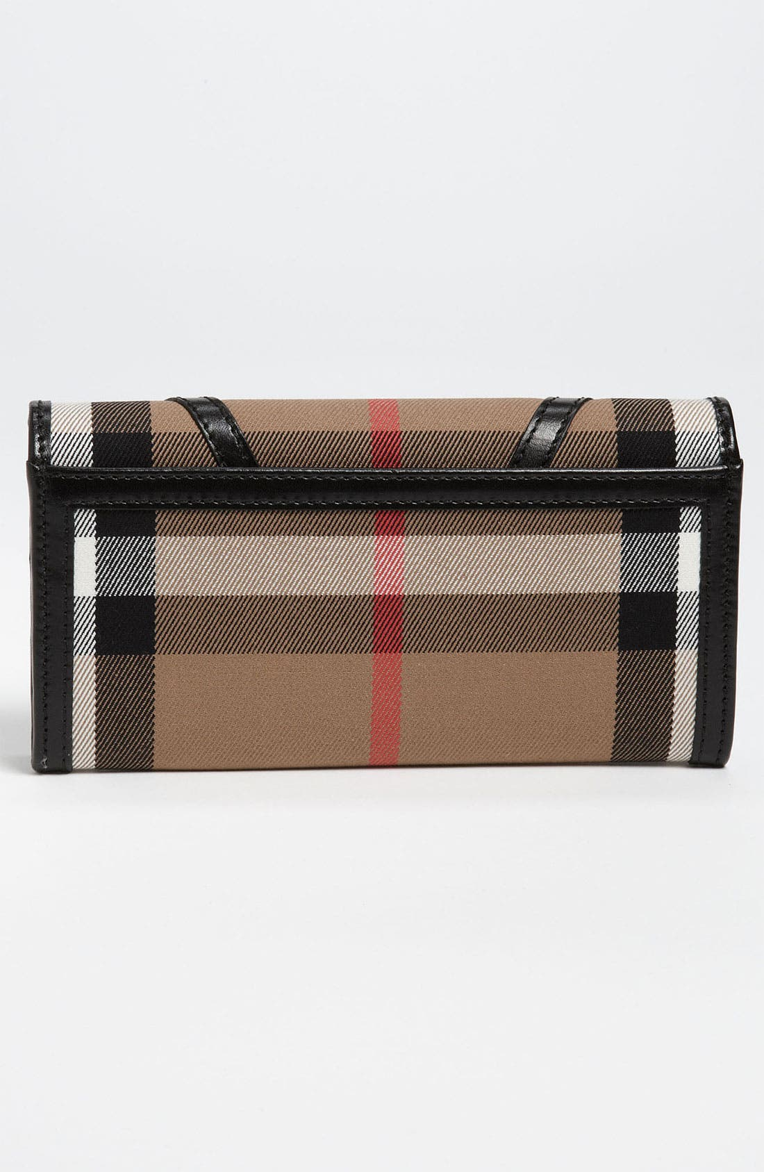 Alternate Image 4  - Burberry 'House Check' Checkbook Wallet