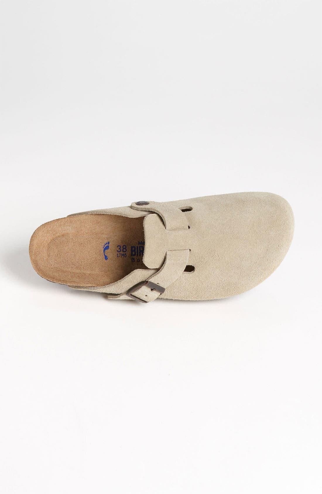 Alternate Image 3  - Birkenstock 'Boston' Soft Footbed Clog (Women)