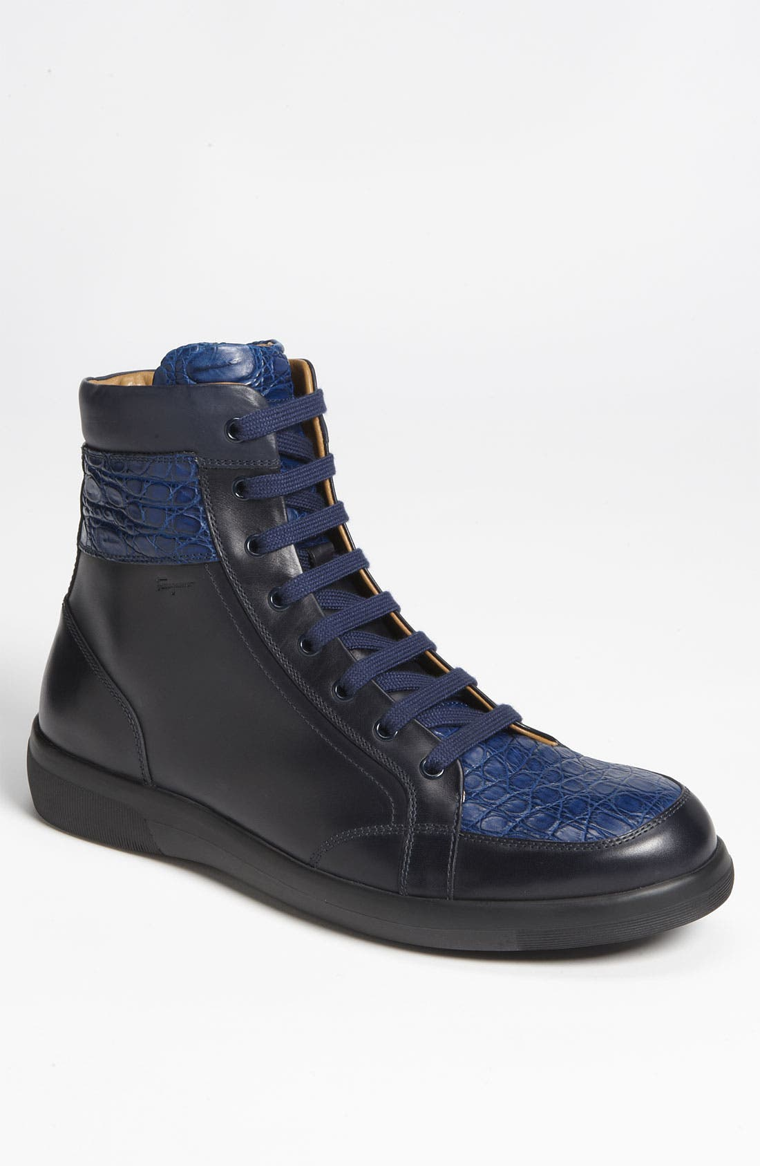 Alternate Image 1 Selected - Salvatore Ferragamo 'Austria 2' Hi-Top Sneaker