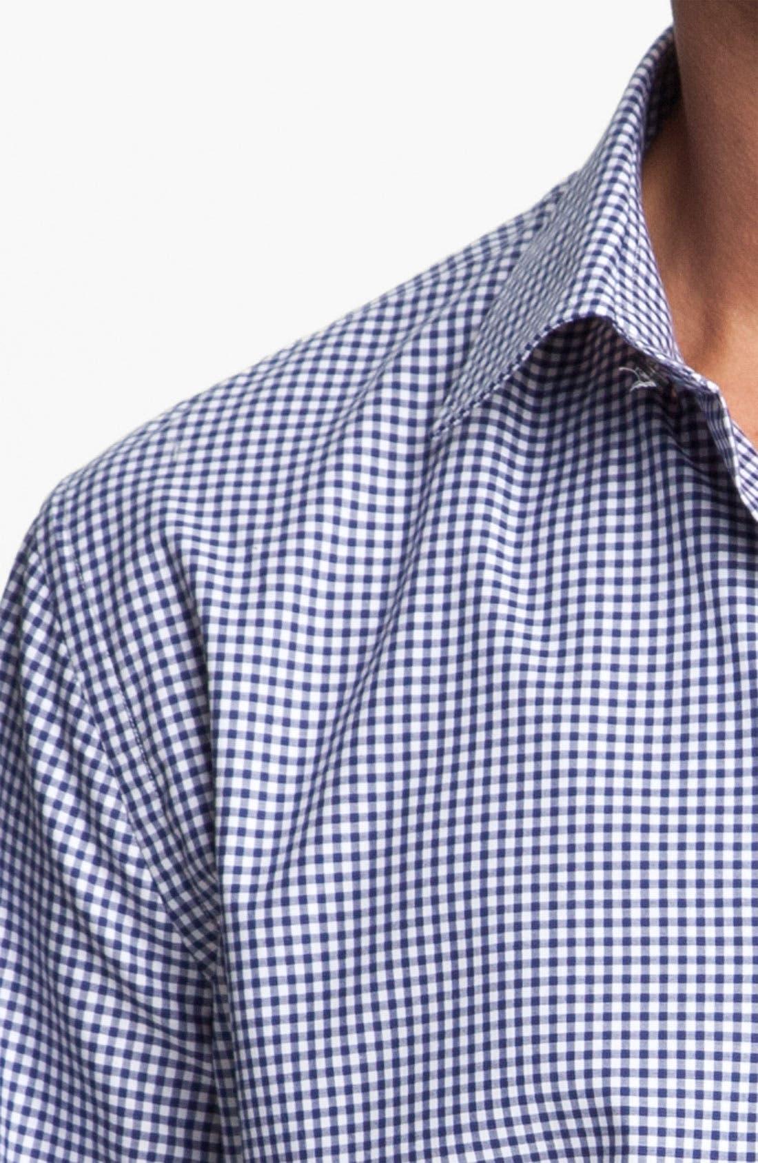 Alternate Image 3  - Paul Smith London Gingham Dress Shirt