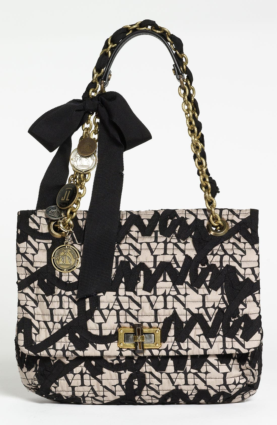 Alternate Image 1 Selected - Lanvin 'Happy Birthday' Embroidered Shoulder Bag