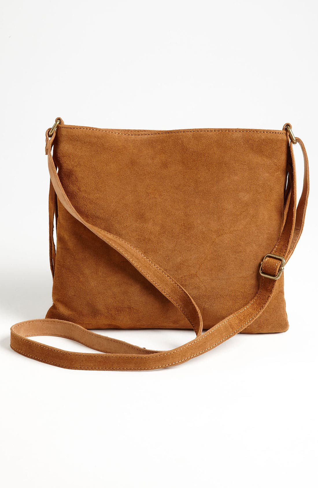 Alternate Image 4  - Steve Madden Fringed Suede Crossbody Bag