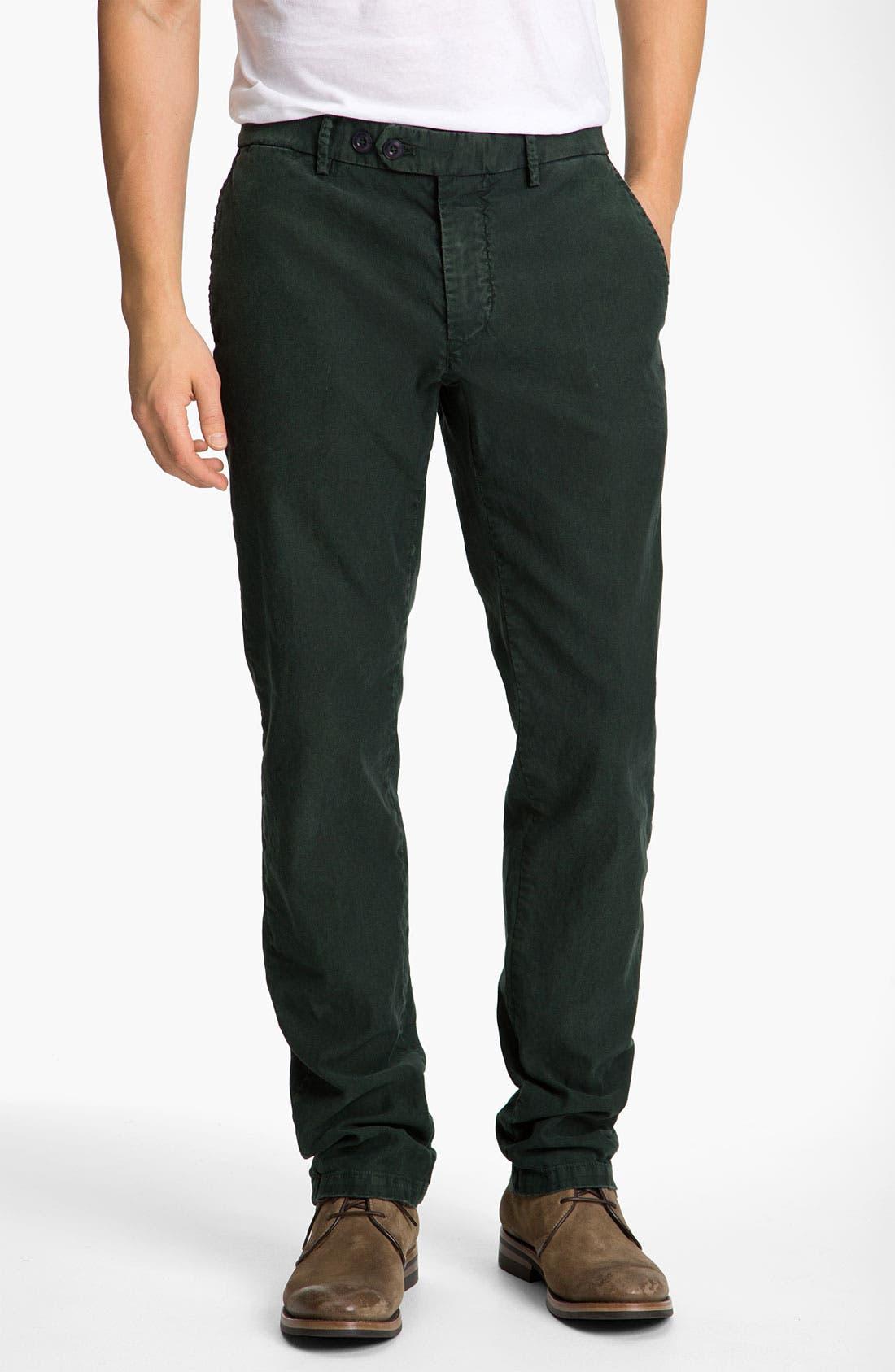 Alternate Image 1 Selected - Mason's Washed Cotton Corduroy Pants