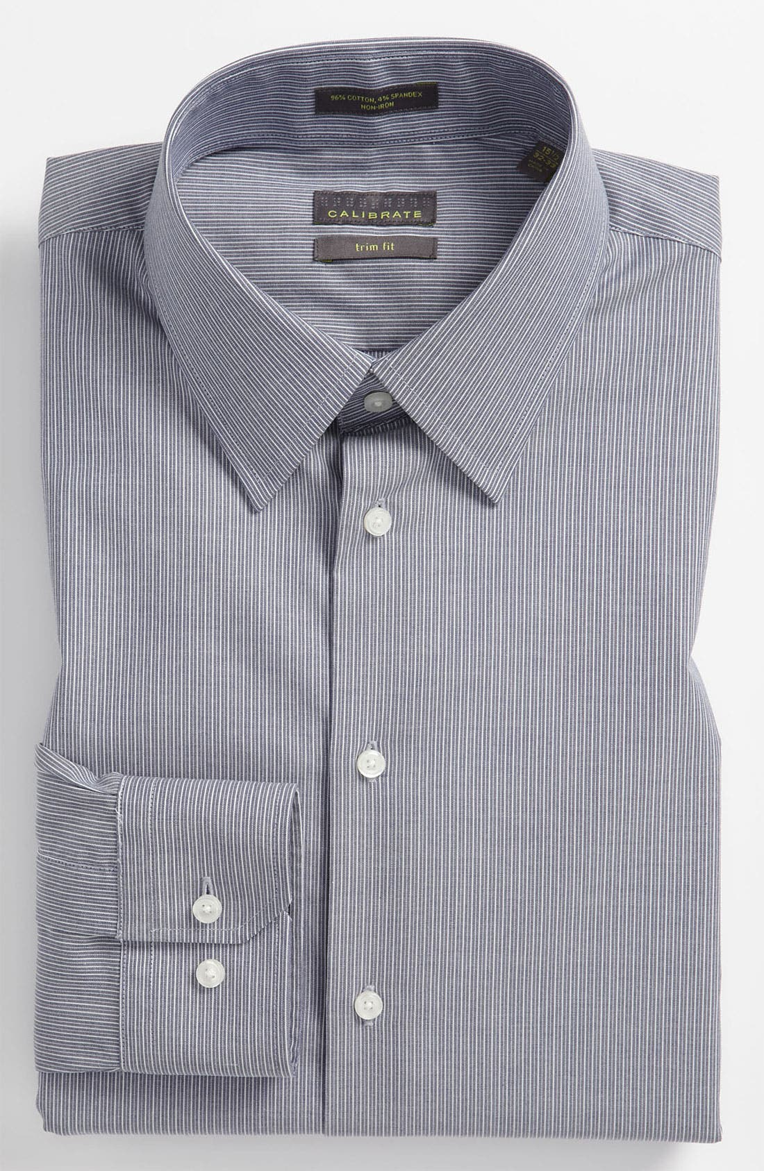 Alternate Image 1 Selected - Calibrate Trim Fit Non Iron Dress Shirt