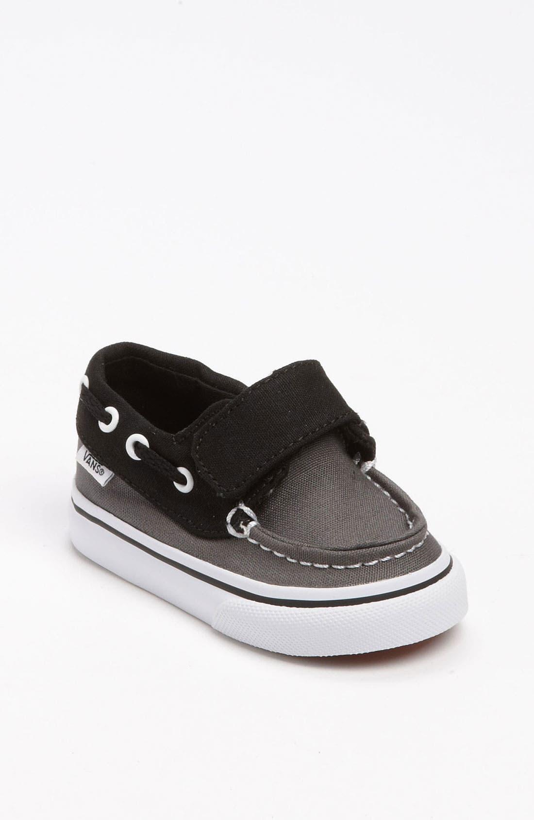 Alternate Image 1 Selected - Vans 'Zapato del Barco V' Boat Shoe (Baby, Walker & Toddler)