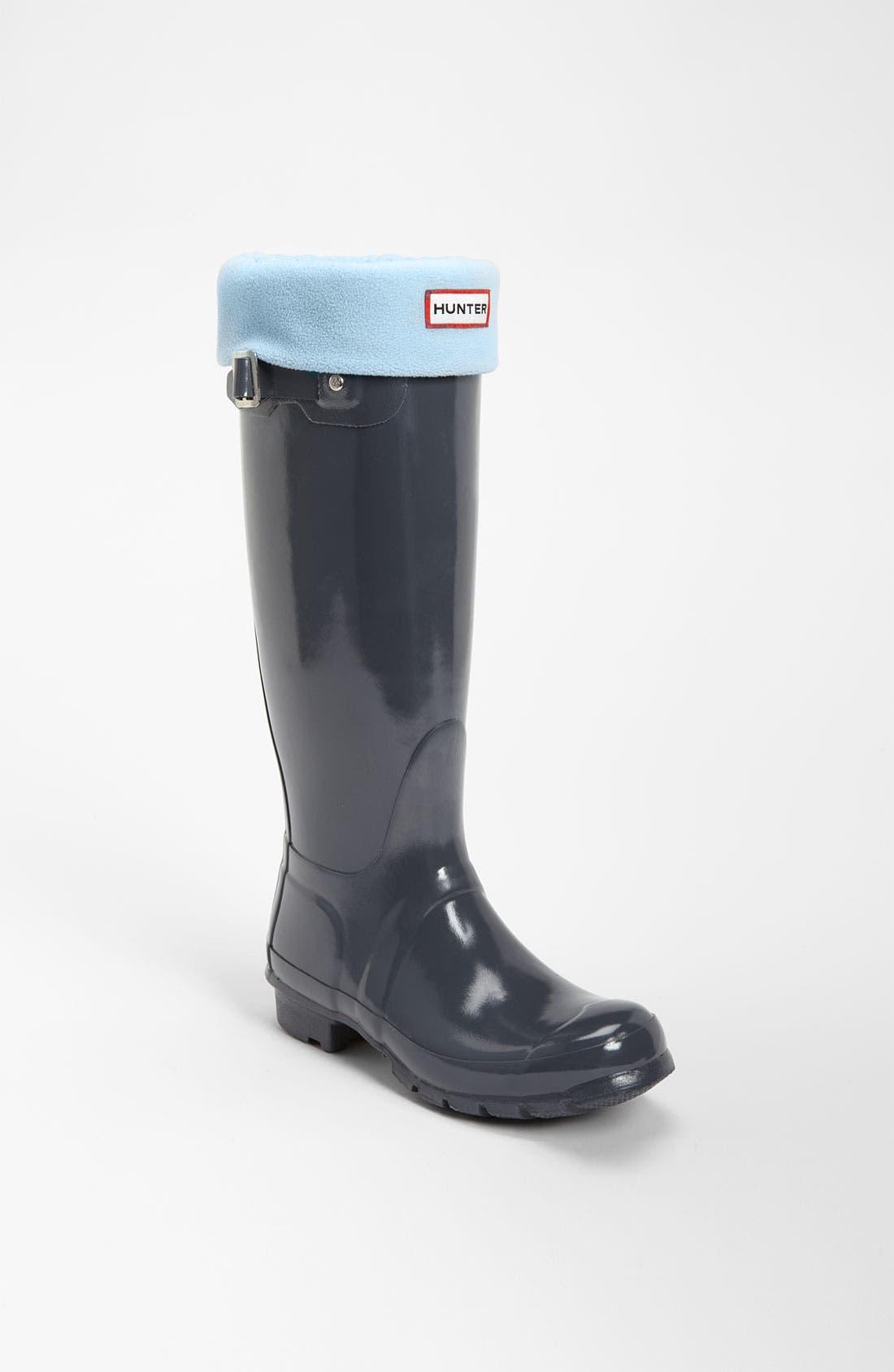 Main Image - Hunter Tall Gloss Rain Boot & Welly Socks