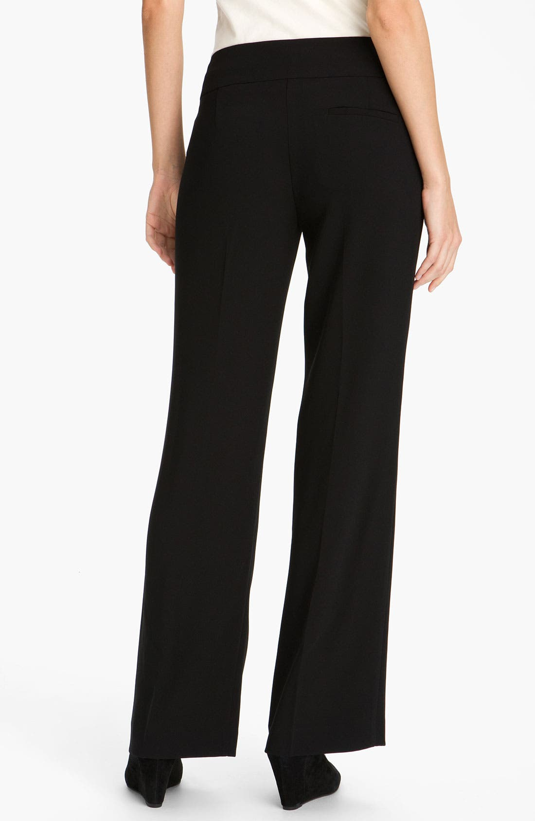 Alternate Image 2  - Eileen Fisher Wide Leg Tropical Weight Trousers (Online Exclusive)