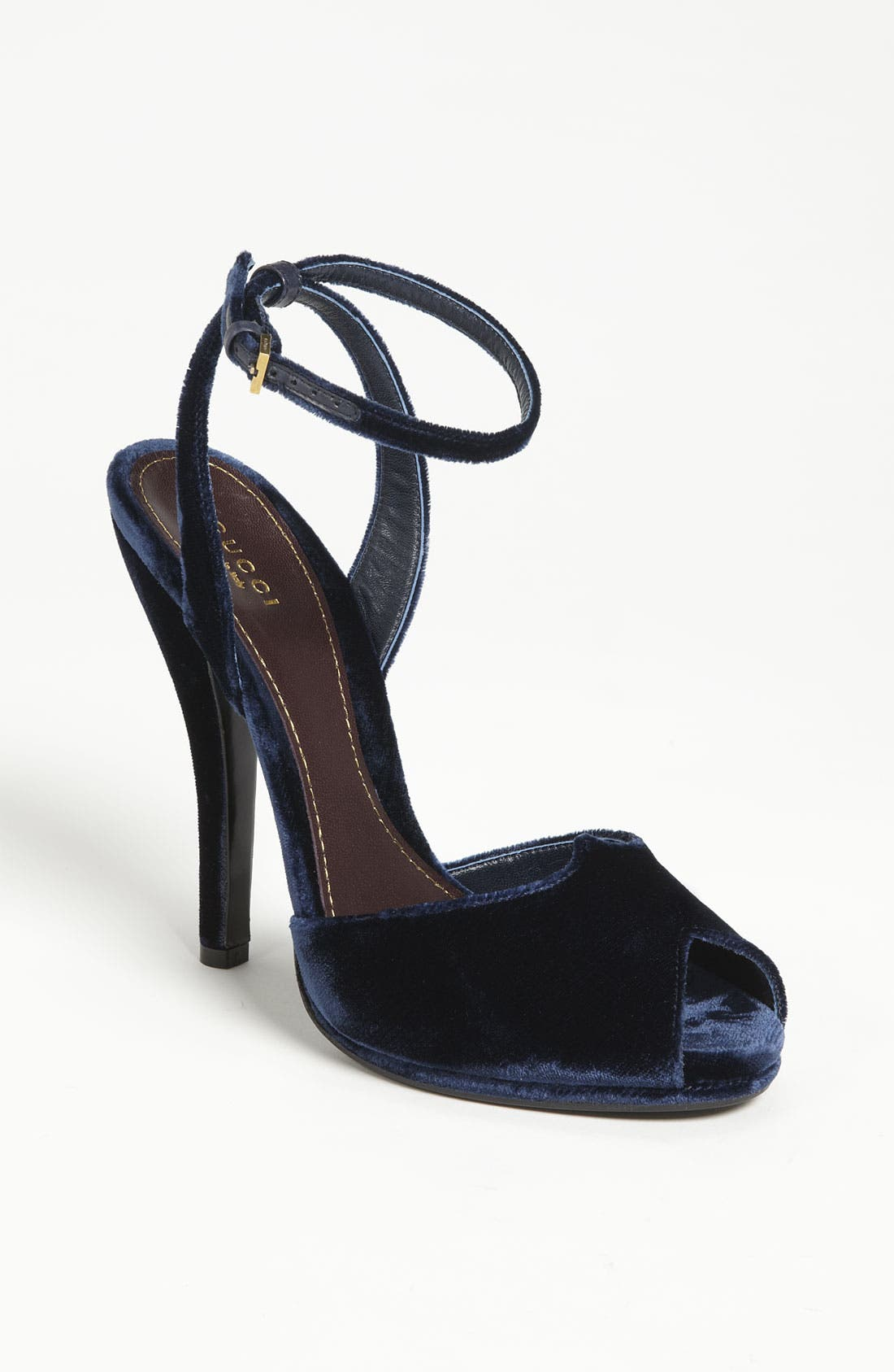 Alternate Image 1 Selected - Gucci Ankle Strap Sandal