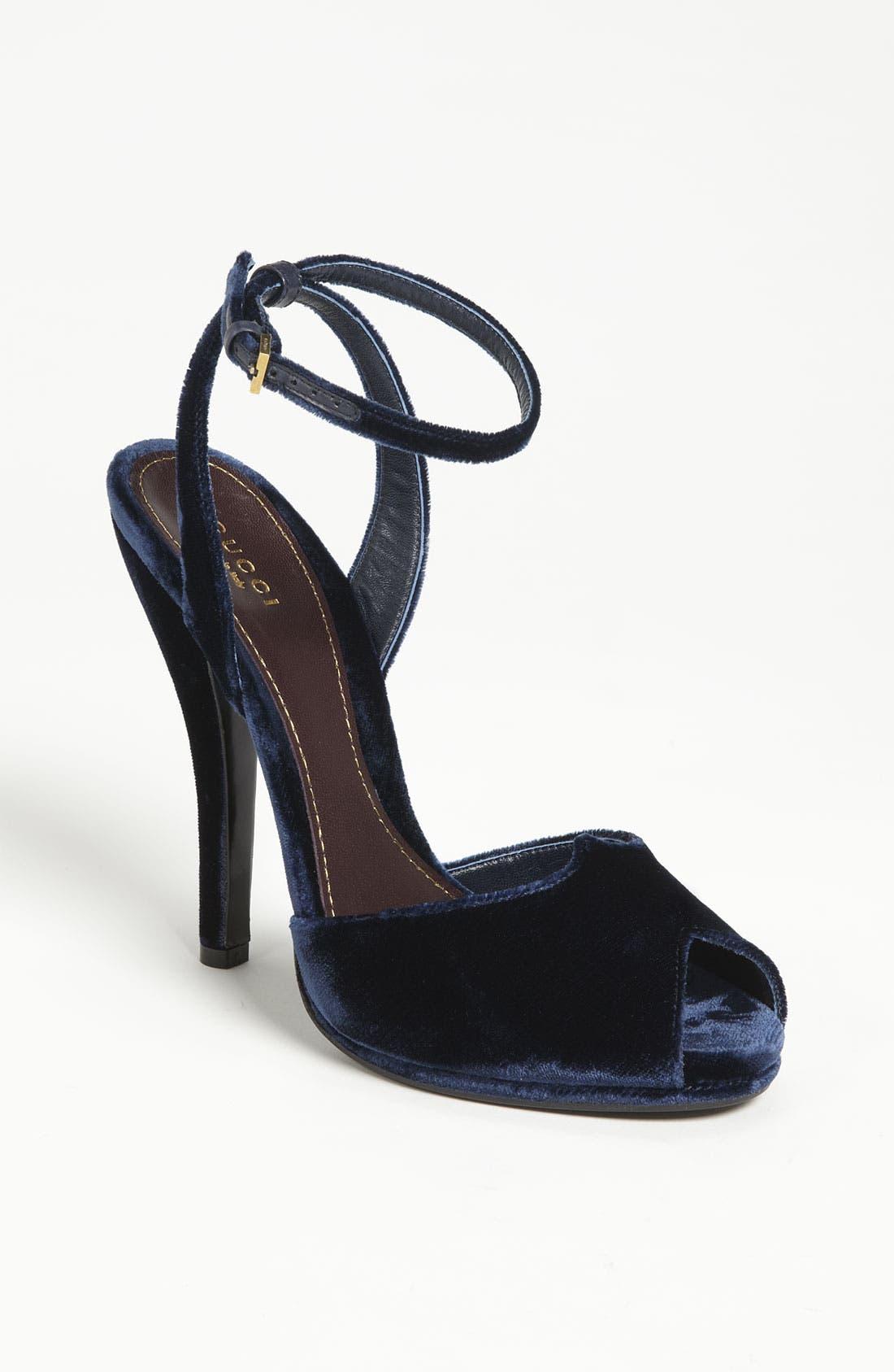 Main Image - Gucci Ankle Strap Sandal