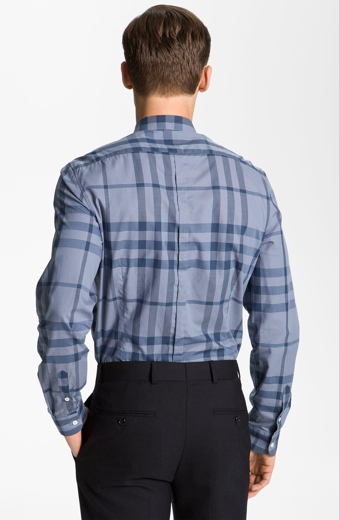 Alternate Image 2  - Burberry London Woven Cotton Shirt