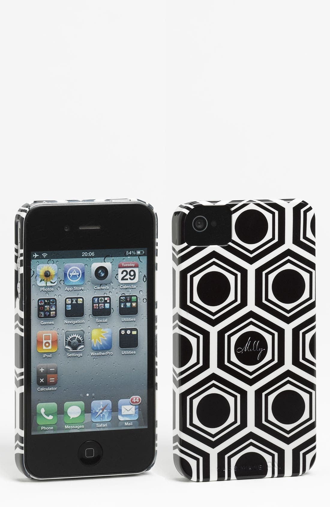 Main Image - Milly 'Geo Print' iPhone 4 & 4S Case