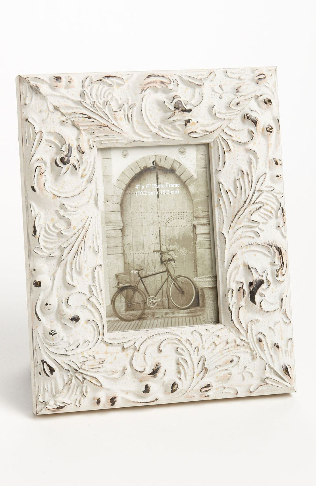 Alternate Image 2  - Distressed Wood 4x6 Picture Frame