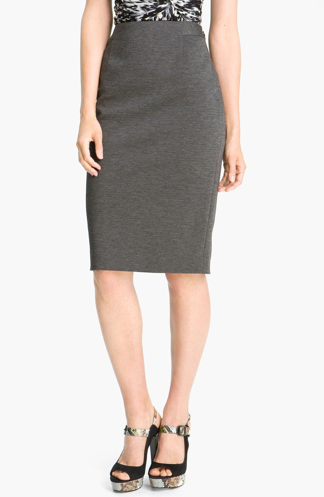 Alternate Image 1 Selected - Classiques Entier® 'Duomo' Knit Pencil Skirt