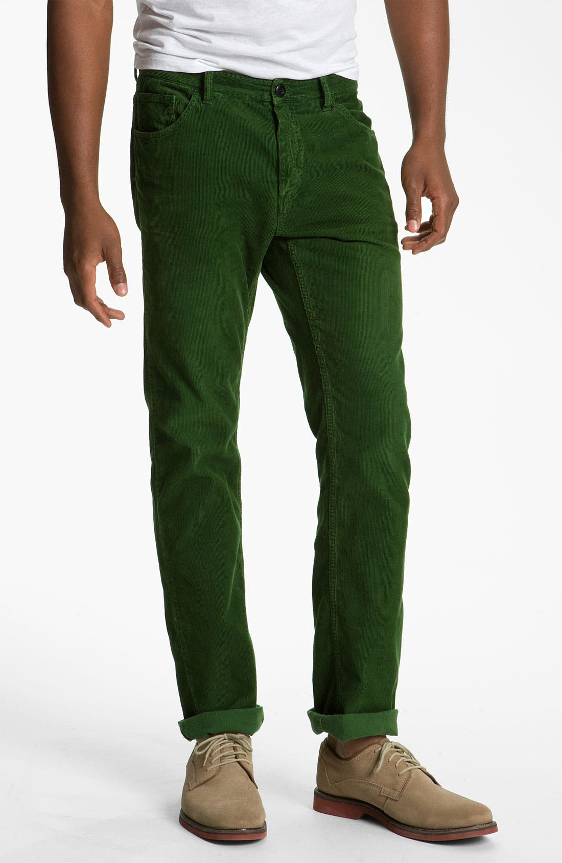 Alternate Image 2  - Gant Rugger 'The Cordster' Slim Fit Corduroy Pants