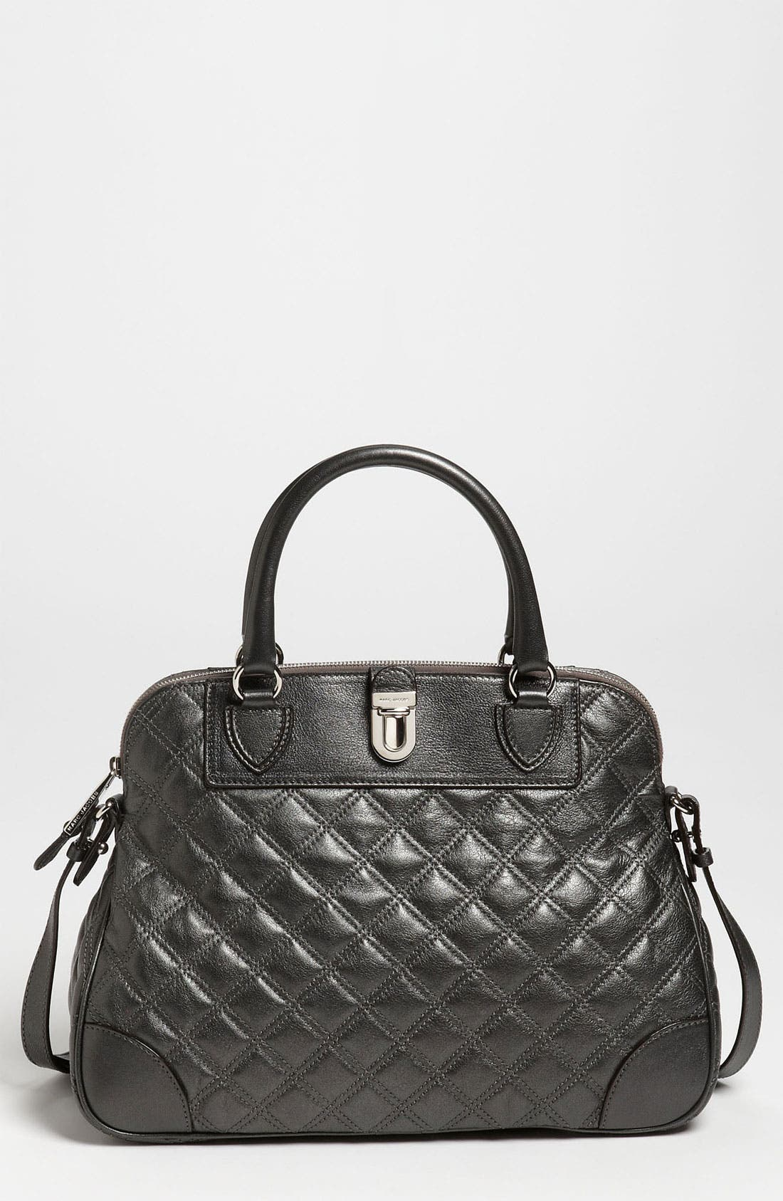 Main Image - MARC JACOBS 'Quilting Whitney' Leather Satchel