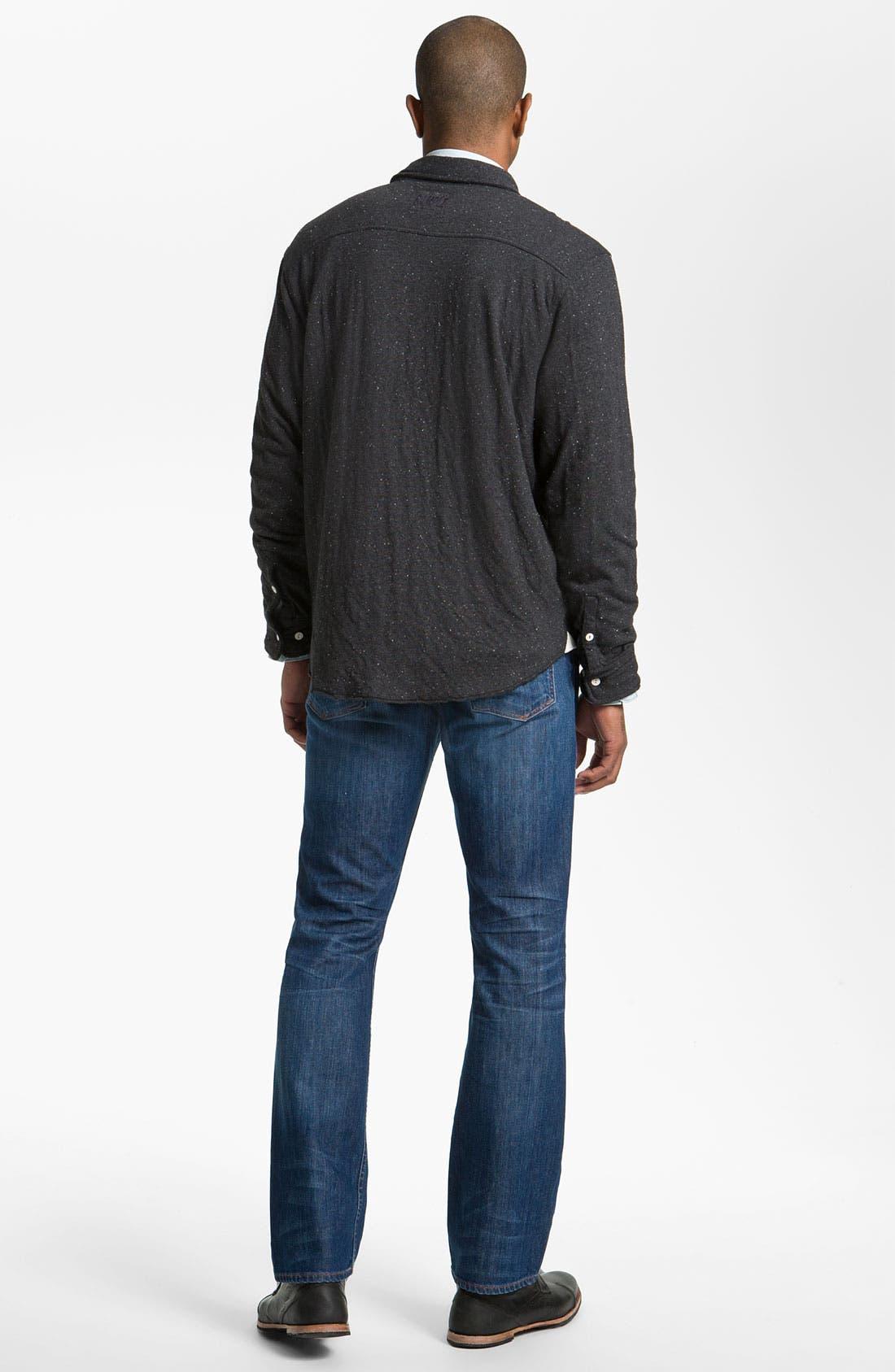 Alternate Image 6  - Earnest Sewn 'Dexter' Relaxed Leg Jeans (Burton)