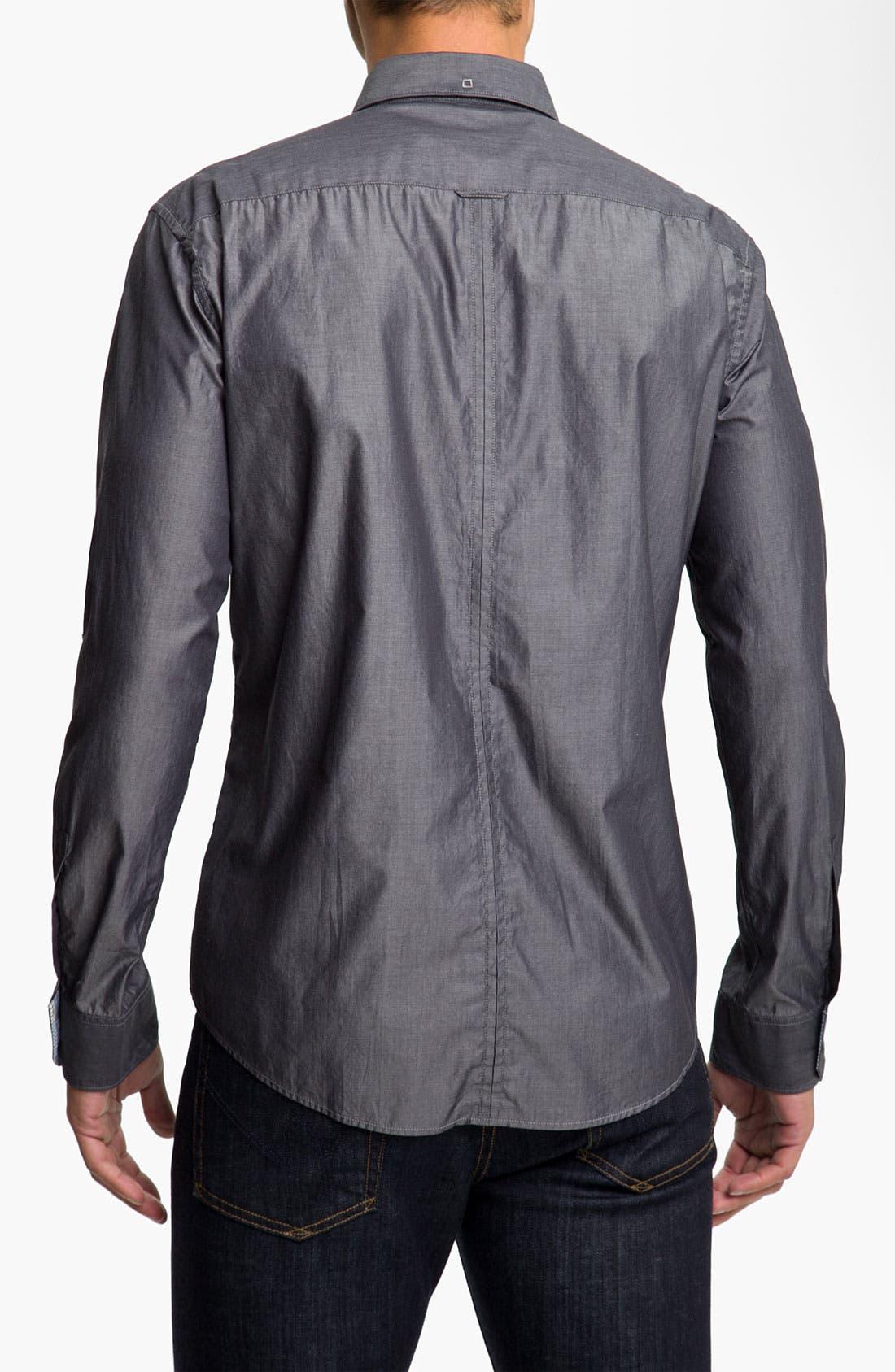 Alternate Image 2  - BOSS Black 'Rex' Slim Fit Sport Shirt