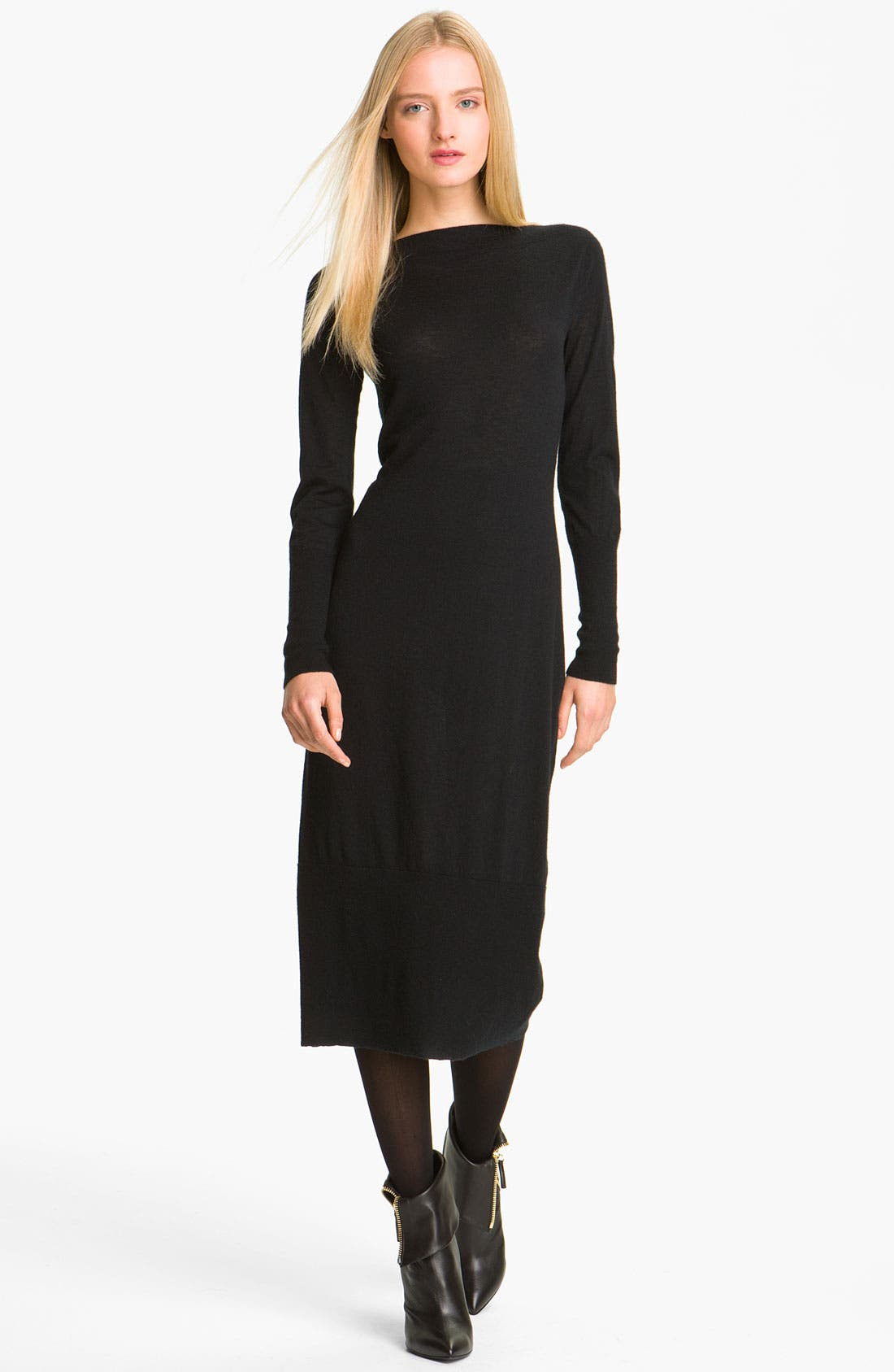 Alternate Image 1 Selected - autumn cashmere Cashmere Knit Dress