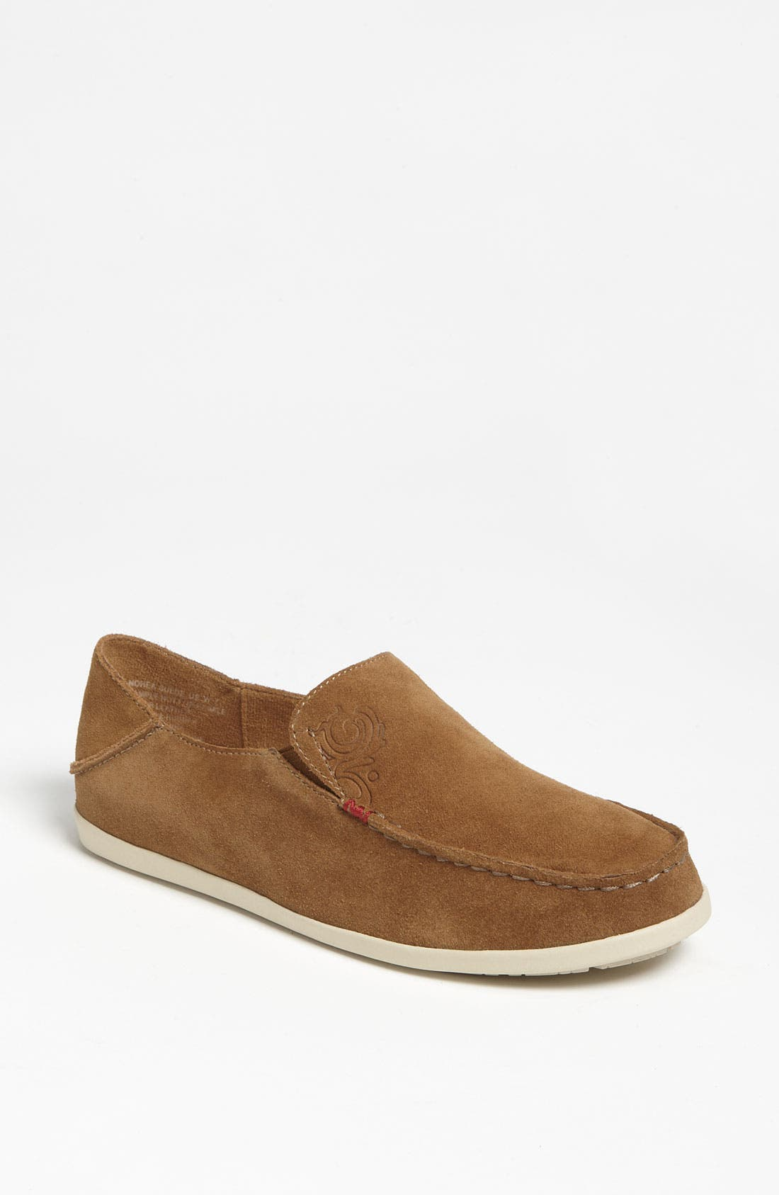 Alternate Image 1 Selected - OluKai 'Nohea' Suede Slip-On (Women)