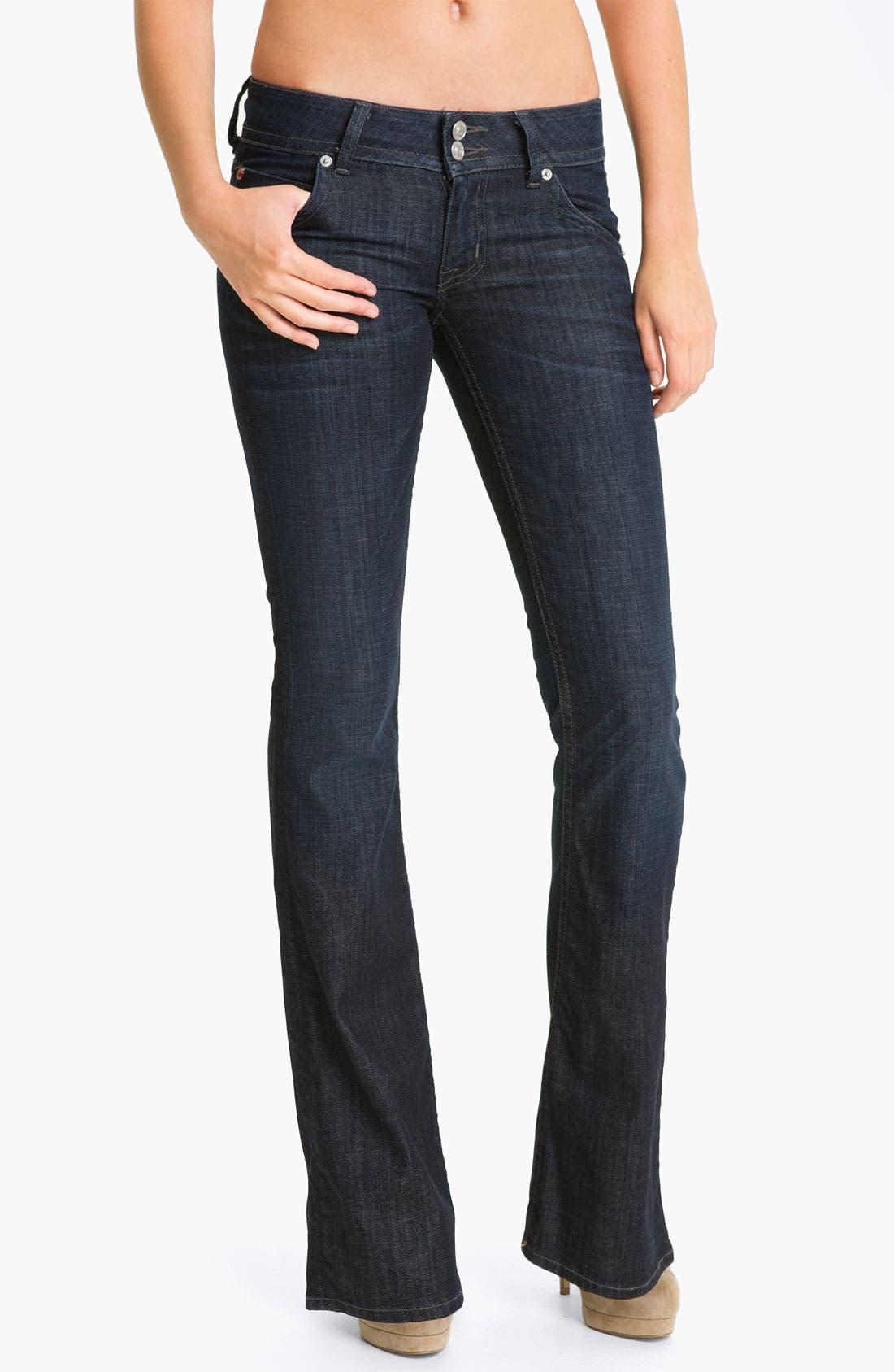 Main Image - Hudson Jeans Signature Flap Pocket Bootcut Jeans (Savage)