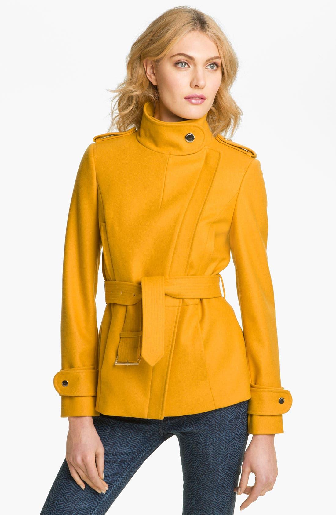 Alternate Image 2  - Ted Baker London Funnel Neck Wool Blend Jacket