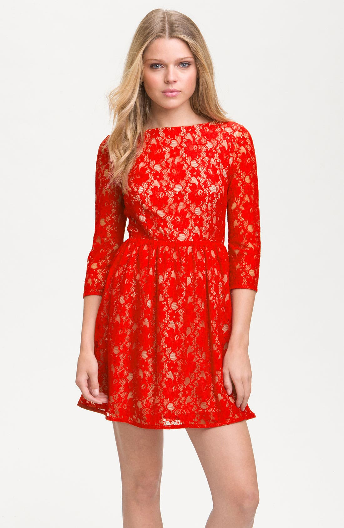 Main Image - French Connection 'Lizzie' Lace Dress