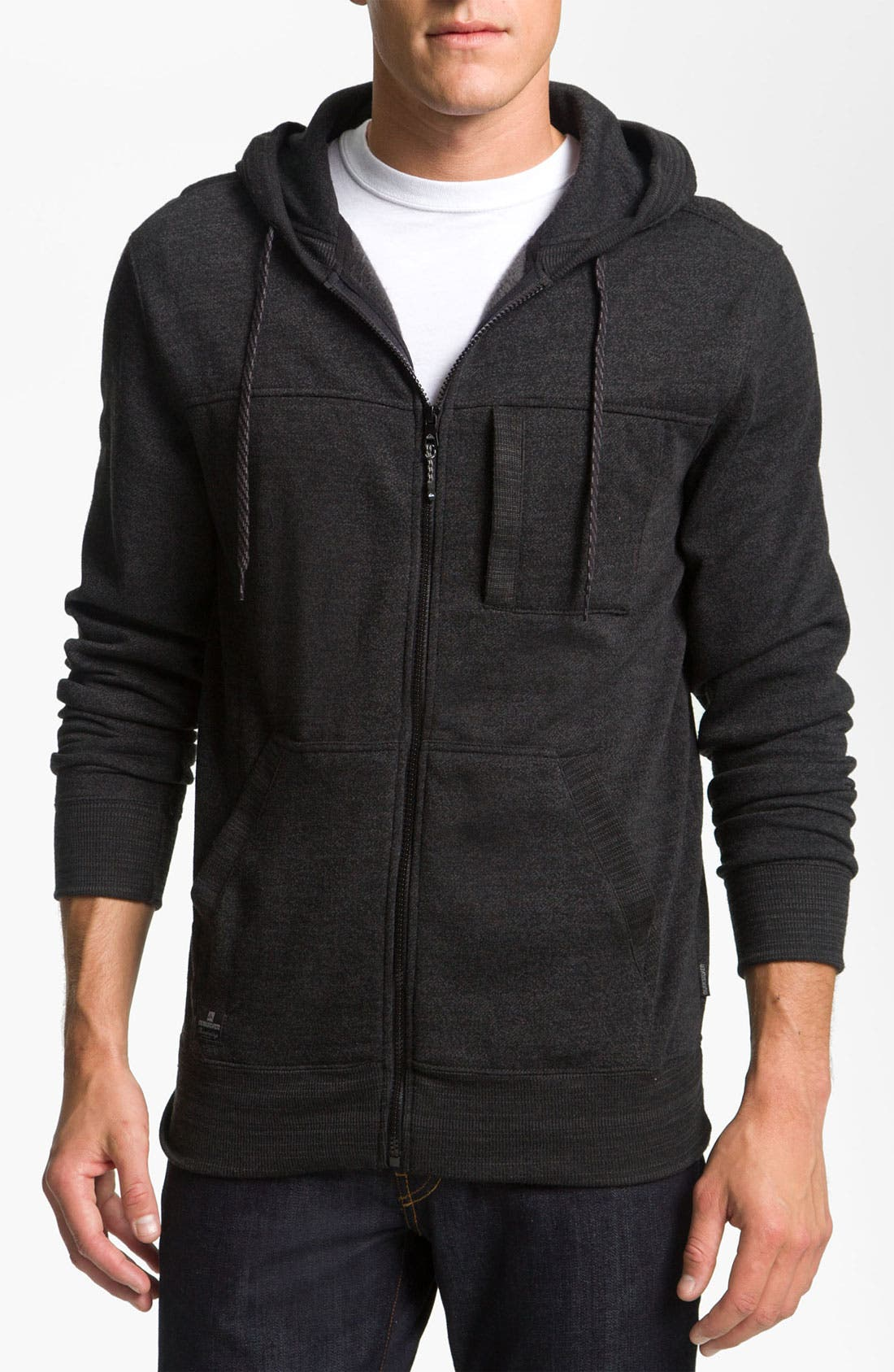 Alternate Image 1 Selected - Quiksilver 'Rambler' Zip Hoodie
