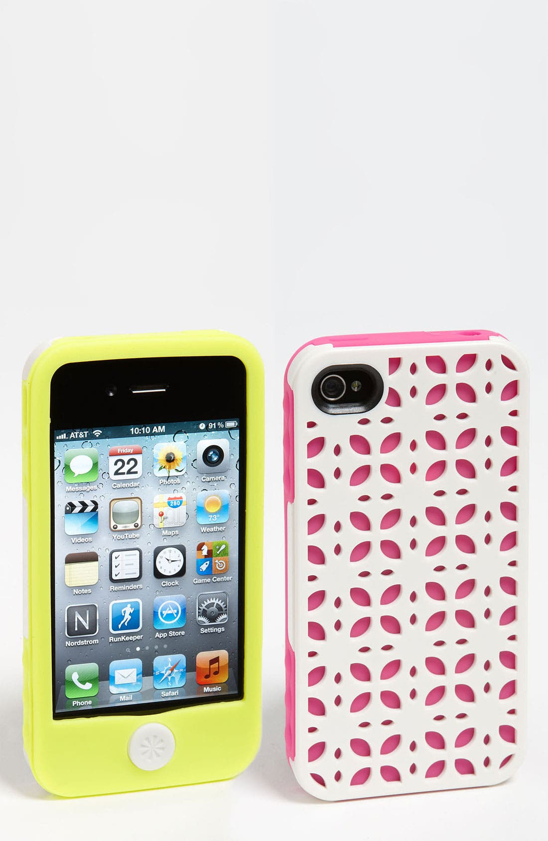 Main Image - Tech Candy 'New York' iPhone 4 & 4S Silicone Case Set