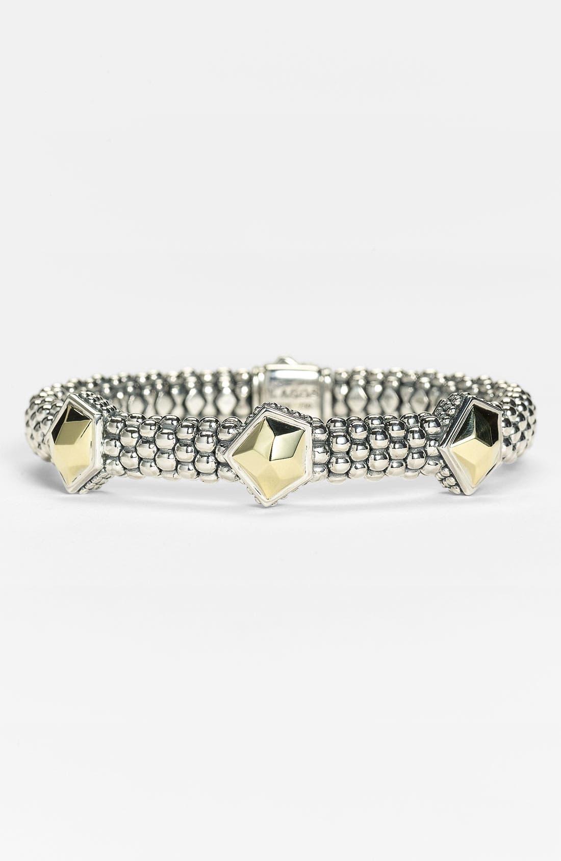 Alternate Image 1 Selected - LAGOS 'Rocks' Caviar Rope Station Bracelet