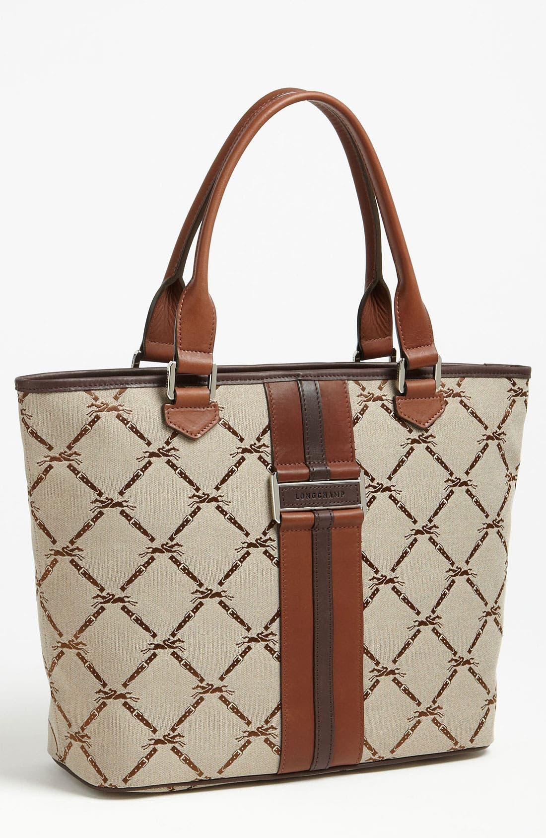 Alternate Image 1 Selected - Longchamp 'LM Jacquard' Shoulder Bag