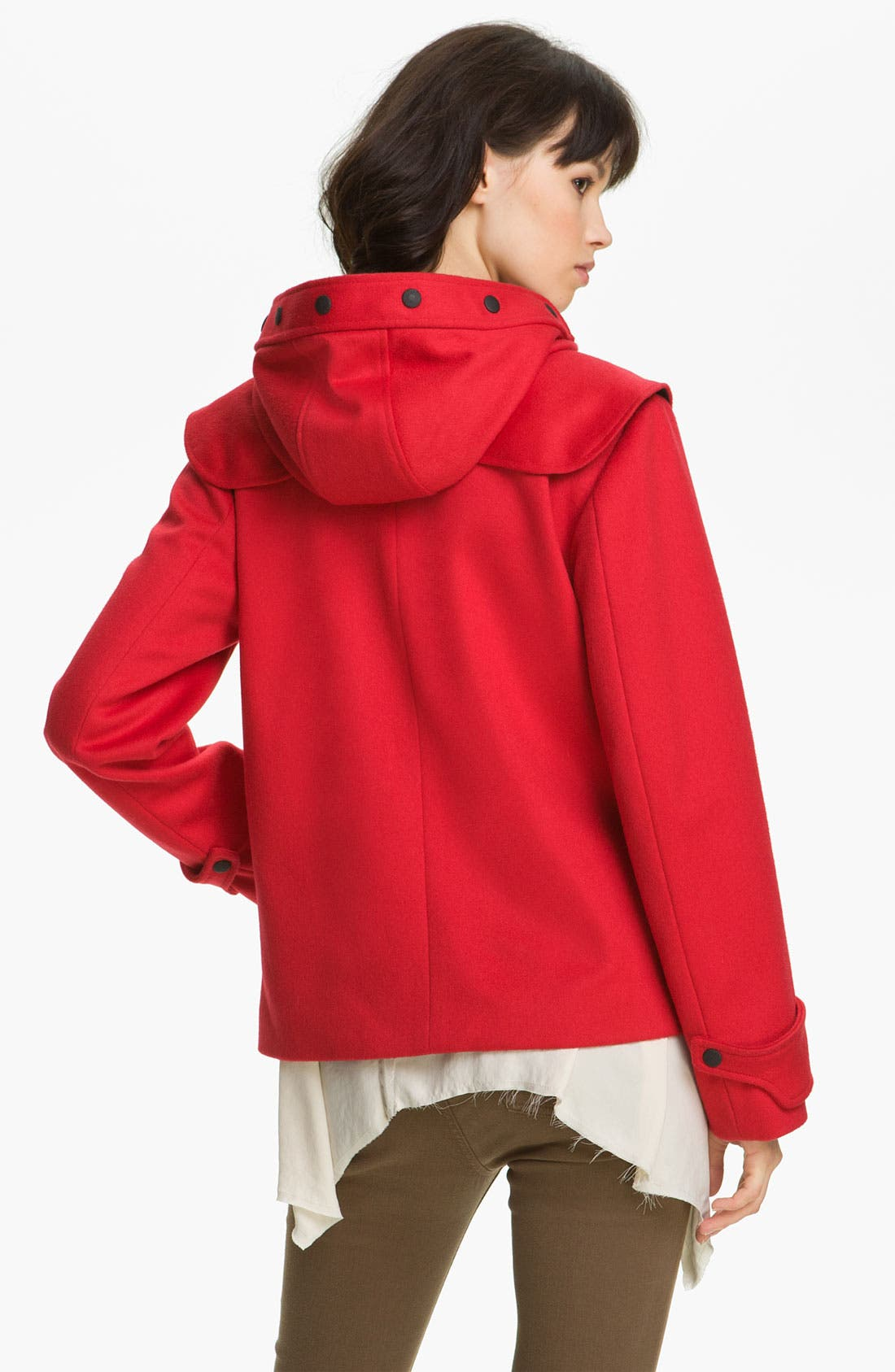Alternate Image 2  - rag & bone Crop Duffle Coat