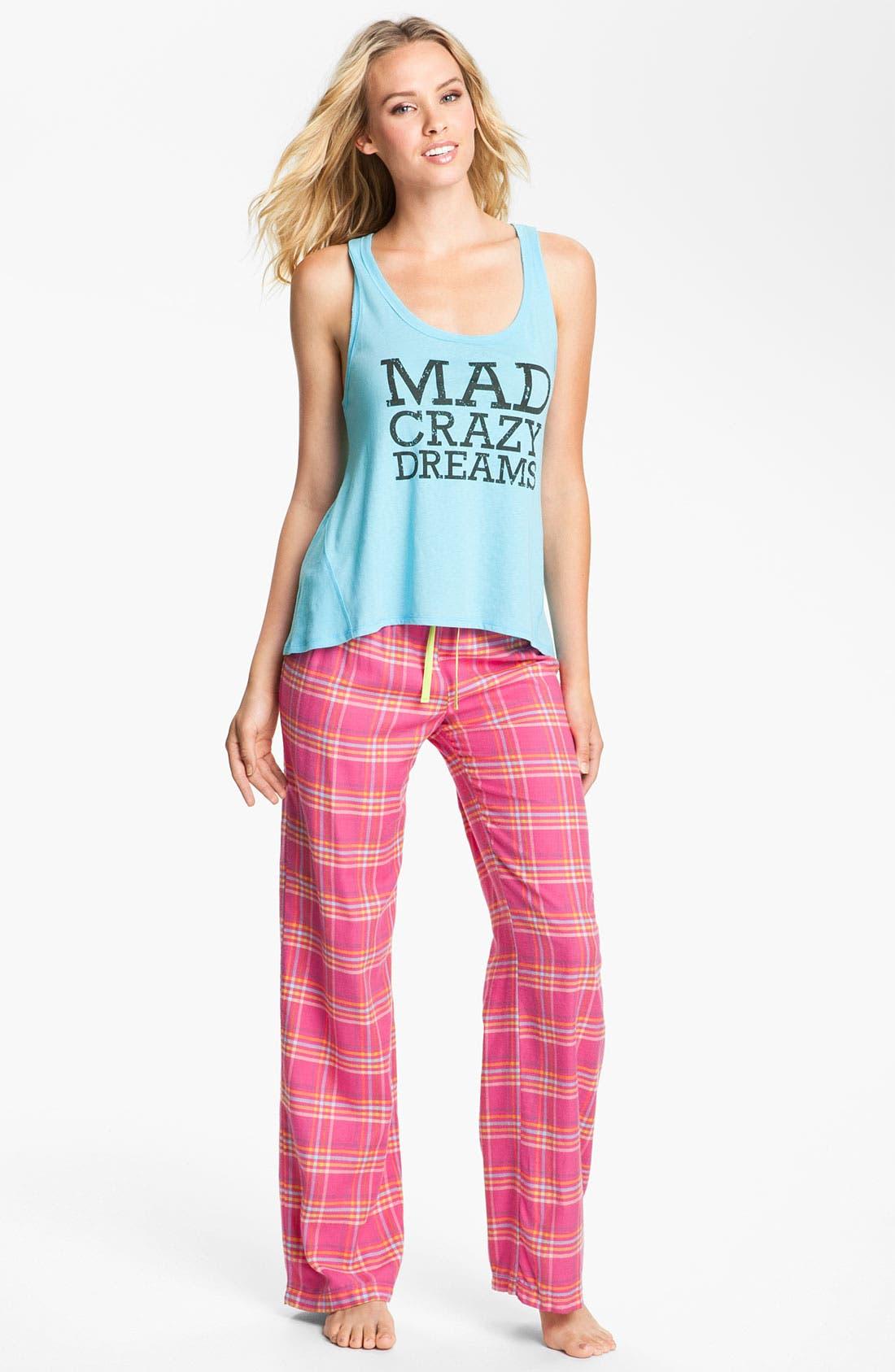 Alternate Image 4  - Steve Madden 'Mad4Plaid' Pajama Pants