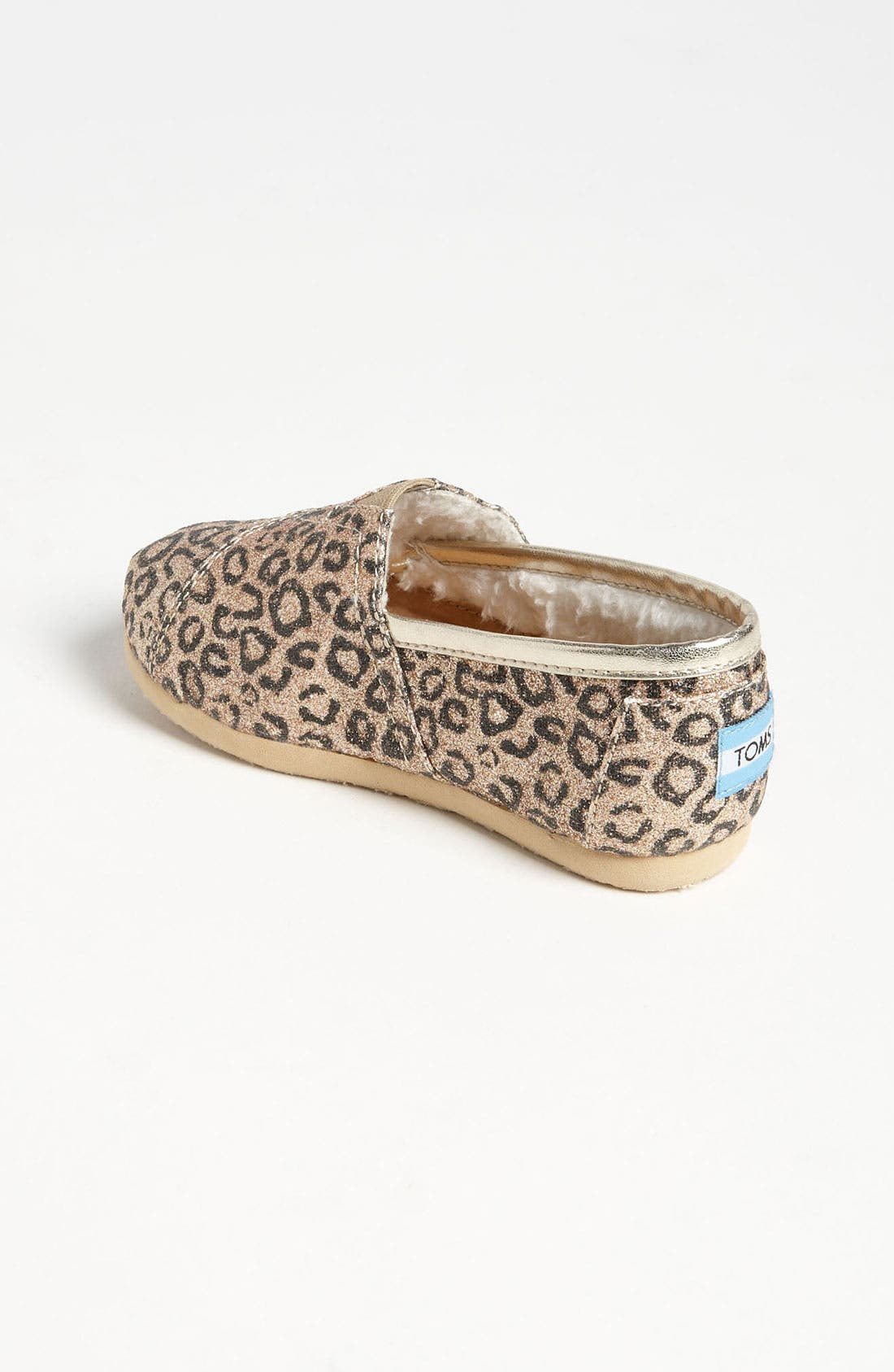 Alternate Image 2  - TOMS 'Classic Tiny - Glitter' Print Slip-On (Baby, Walker & Toddler) (Nordstrom Exclusive)