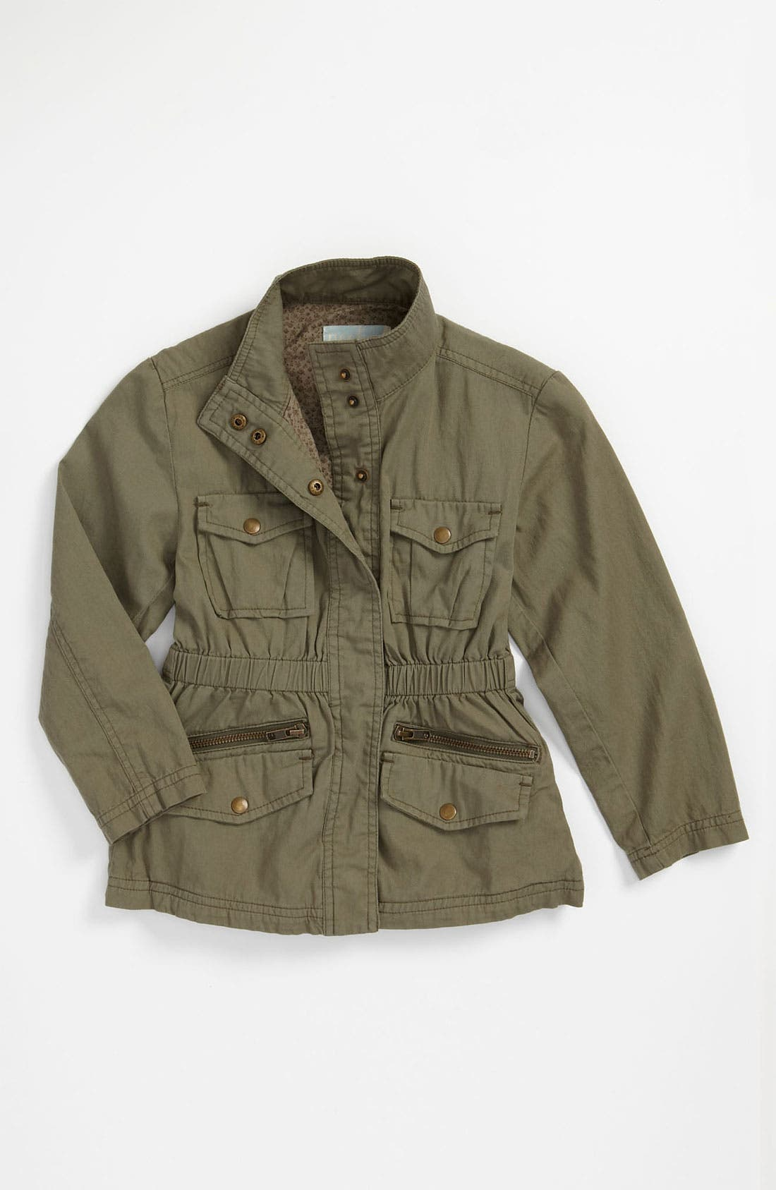 Alternate Image 1 Selected - Peek Safari Jacket (Toddler, Little Girls & Big Girls)