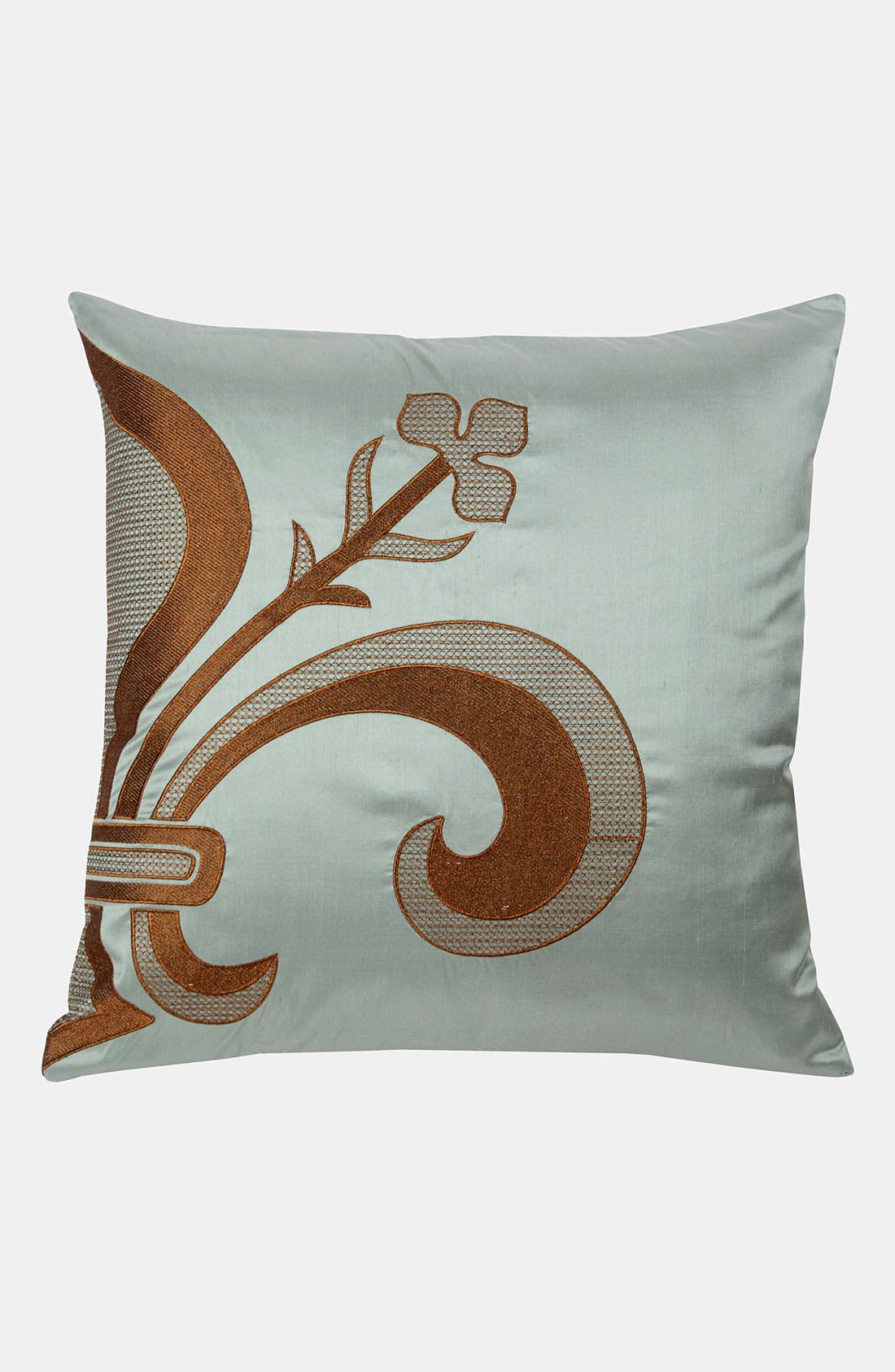 Alternate Image 1 Selected - Blissliving Home 'Louis' Silk Dupioni Pillow (Online Only)
