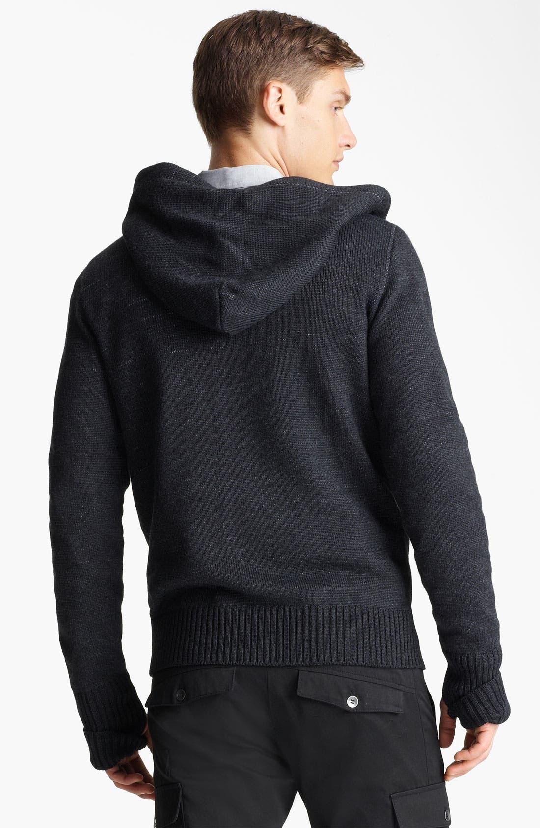 Alternate Image 2  - Field Scout Merino Wool Hooded Sweater