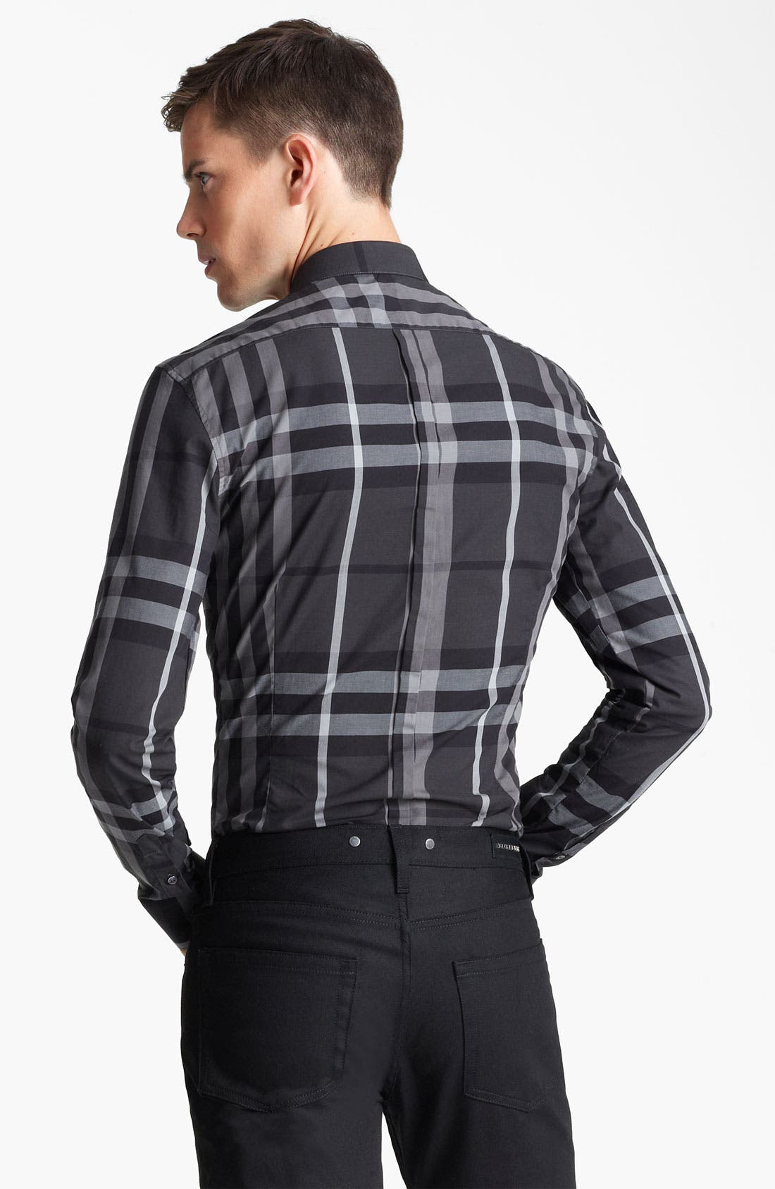 Alternate Image 2  - Burberry London 'Pembury' Check Sport Shirt