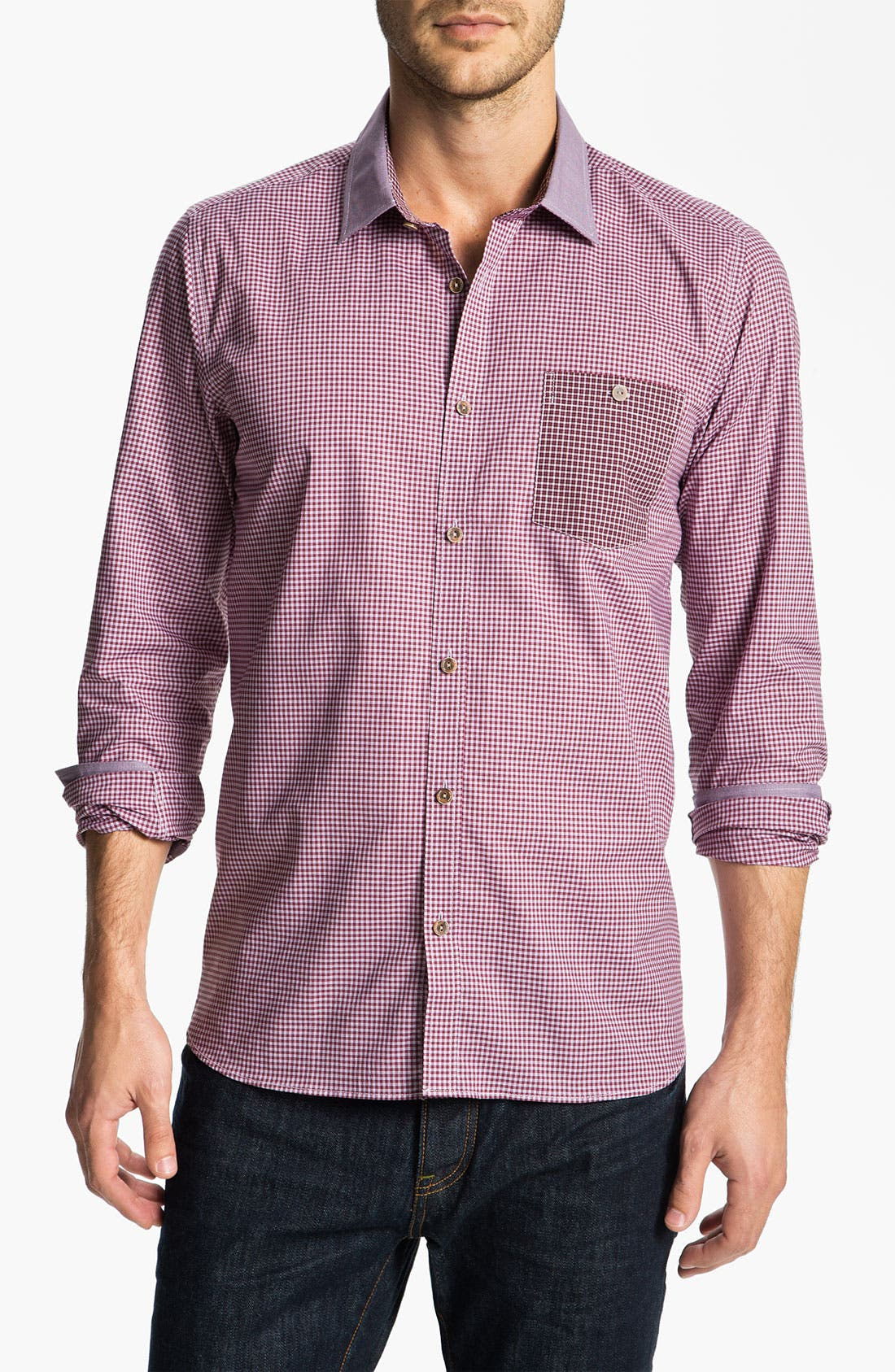 'Livalot' Sport Shirt,                         Main,                         color, Purple