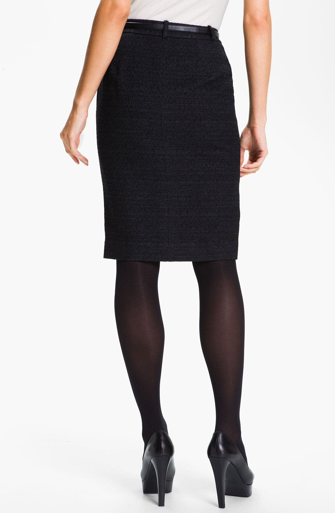Alternate Image 2  - Classiques Entier® Belted Skirt