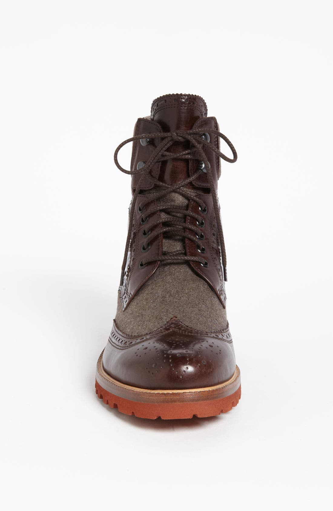'Paciano' Wingtip Boot,                             Alternate thumbnail 3, color,                             Dark Brown