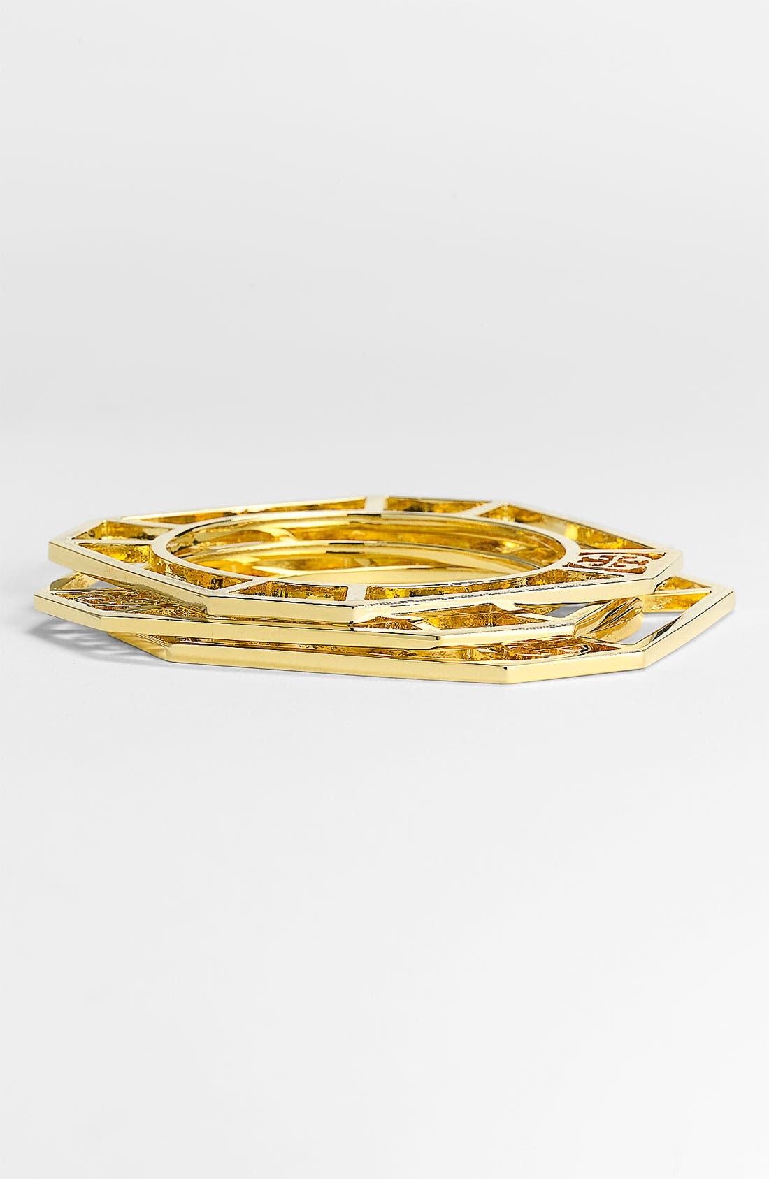 Alternate Image 1 Selected - Tory Burch 'Audrina' Cutout Bangles (Set of 3)
