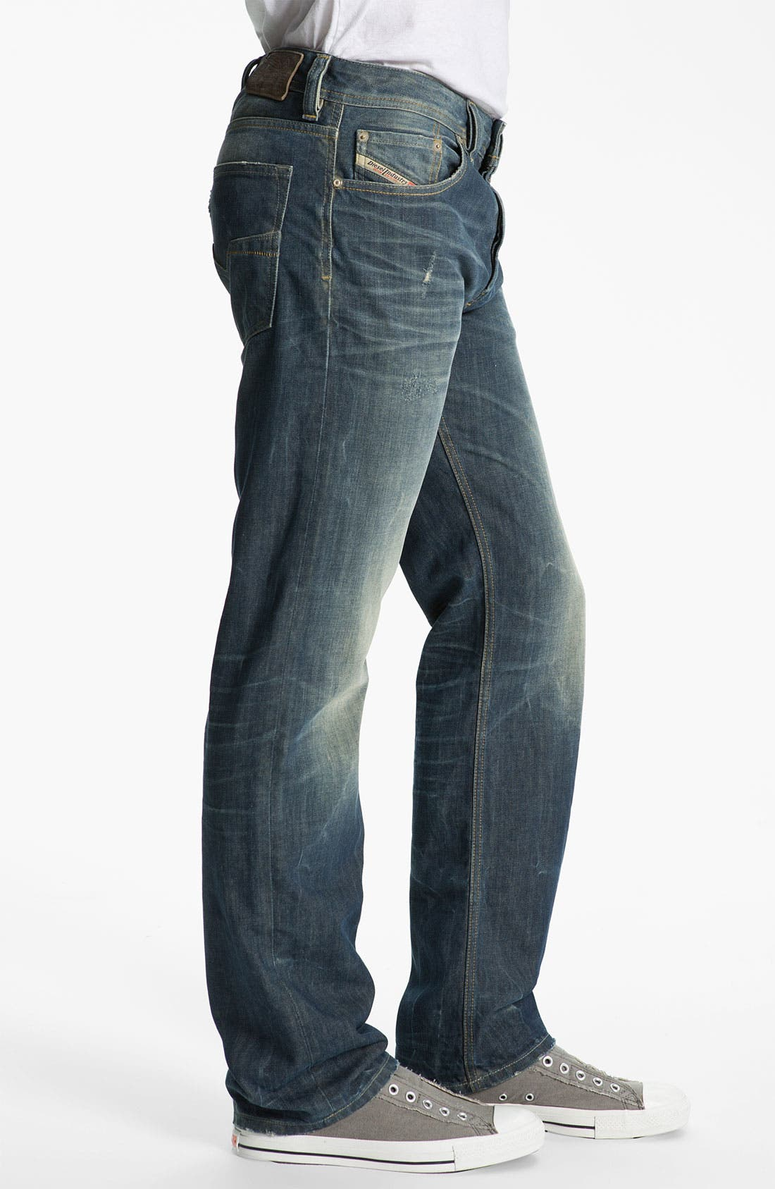 Alternate Image 3  - DIESEL® 'Larkee' Relaxed Straight Leg Jeans (0805U)