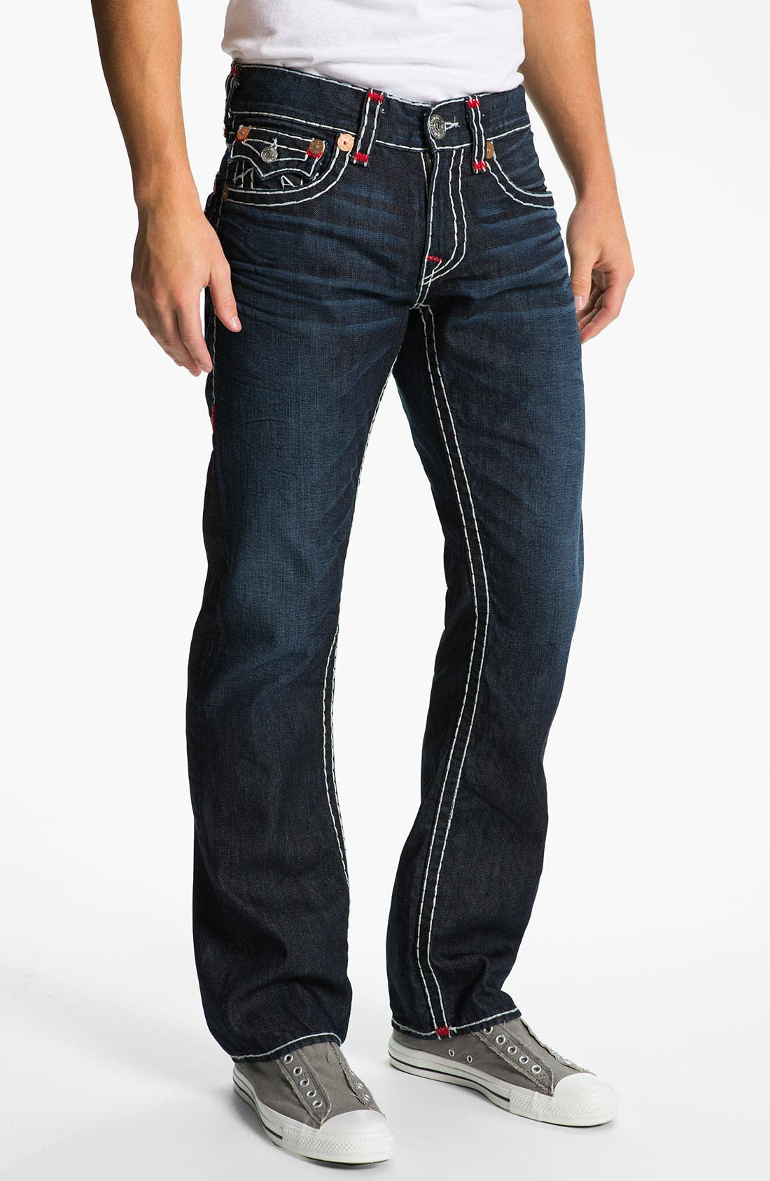 Alternate Image 2  - True Religion Brand Jeans 'Ricky' Straight Leg Jeans (Bounty)