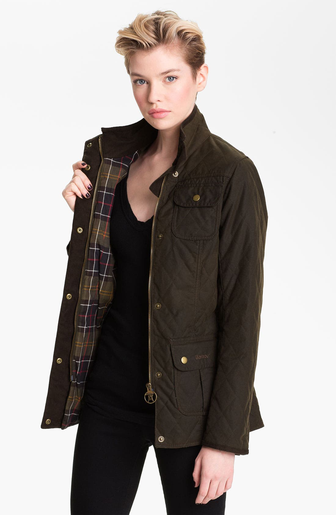 Alternate Image 2  - Barbour Quilted Utility Jacket