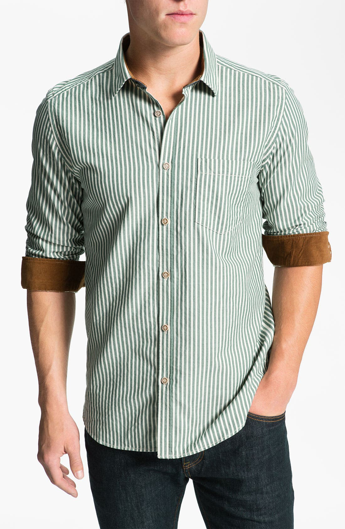 Main Image - Ted Baker London 'Ardram' Sport Shirt