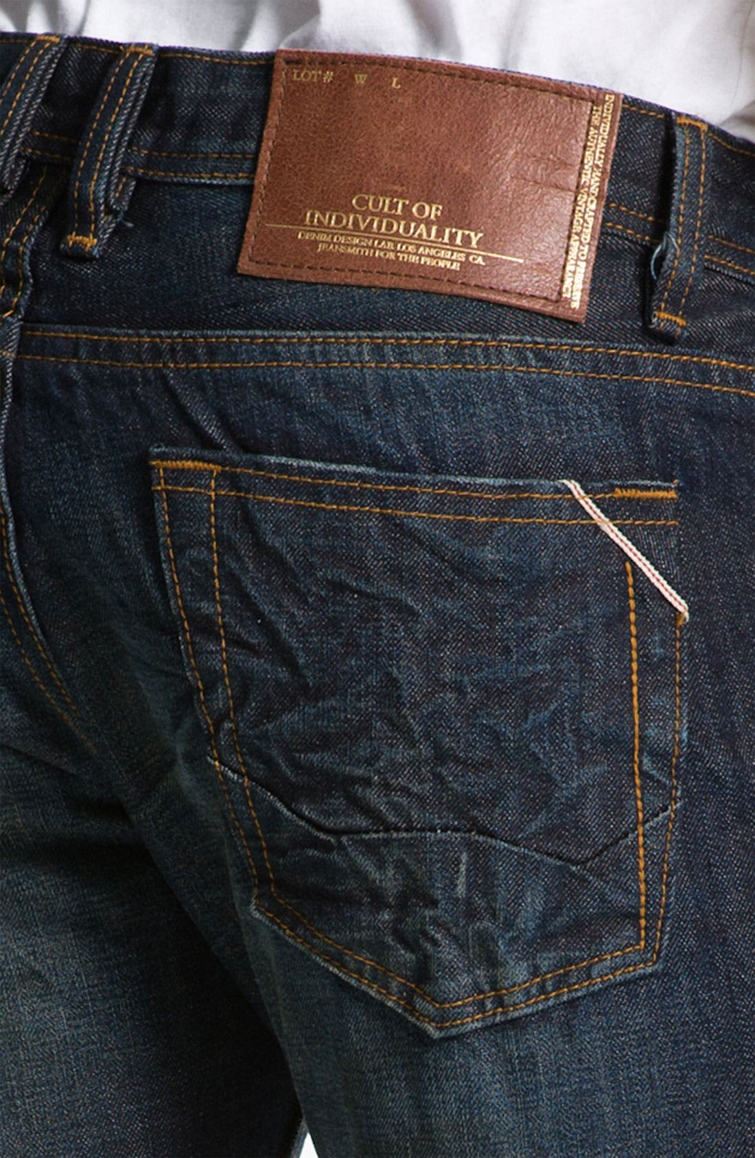 Alternate Image 4  - Cult of Individuality 'Revel' Straight Leg Jeans