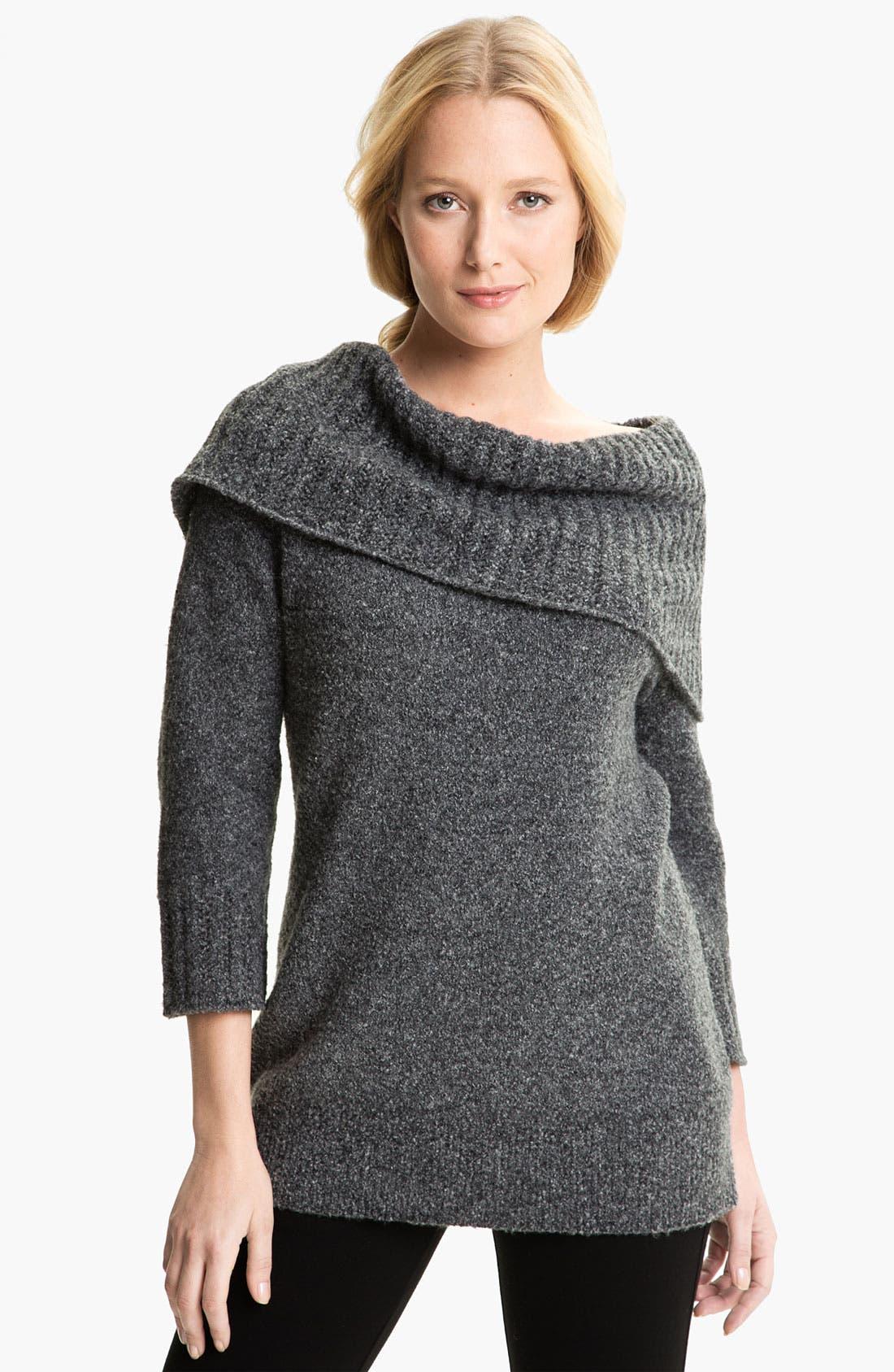 Alternate Image 1 Selected - Amber Sun Bouclé Sweater